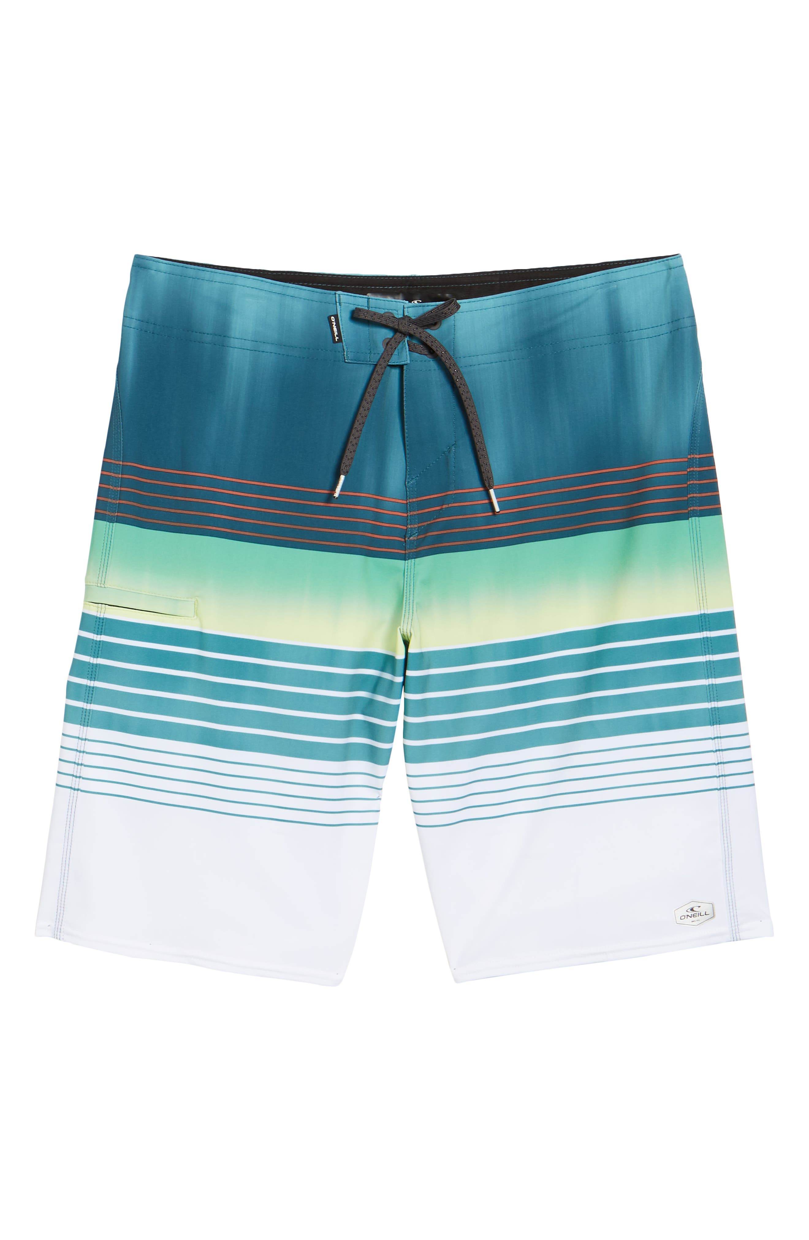 Hyperfreak Heist Board Shorts,                             Alternate thumbnail 6, color,                             DARK BLUE