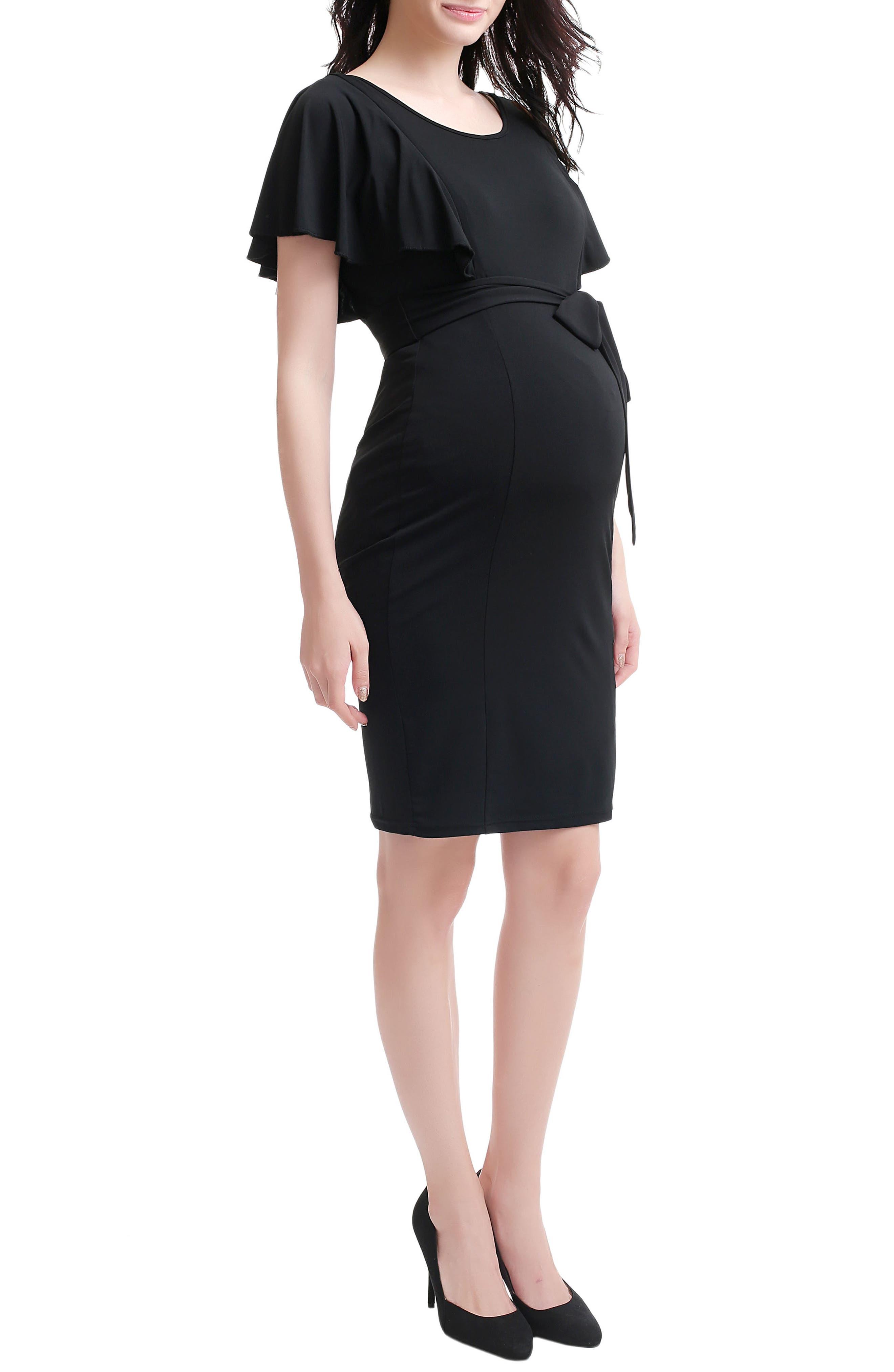 KIMI AND KAI,                             Makayla Maternity/Nursing Dress,                             Alternate thumbnail 2, color,                             001