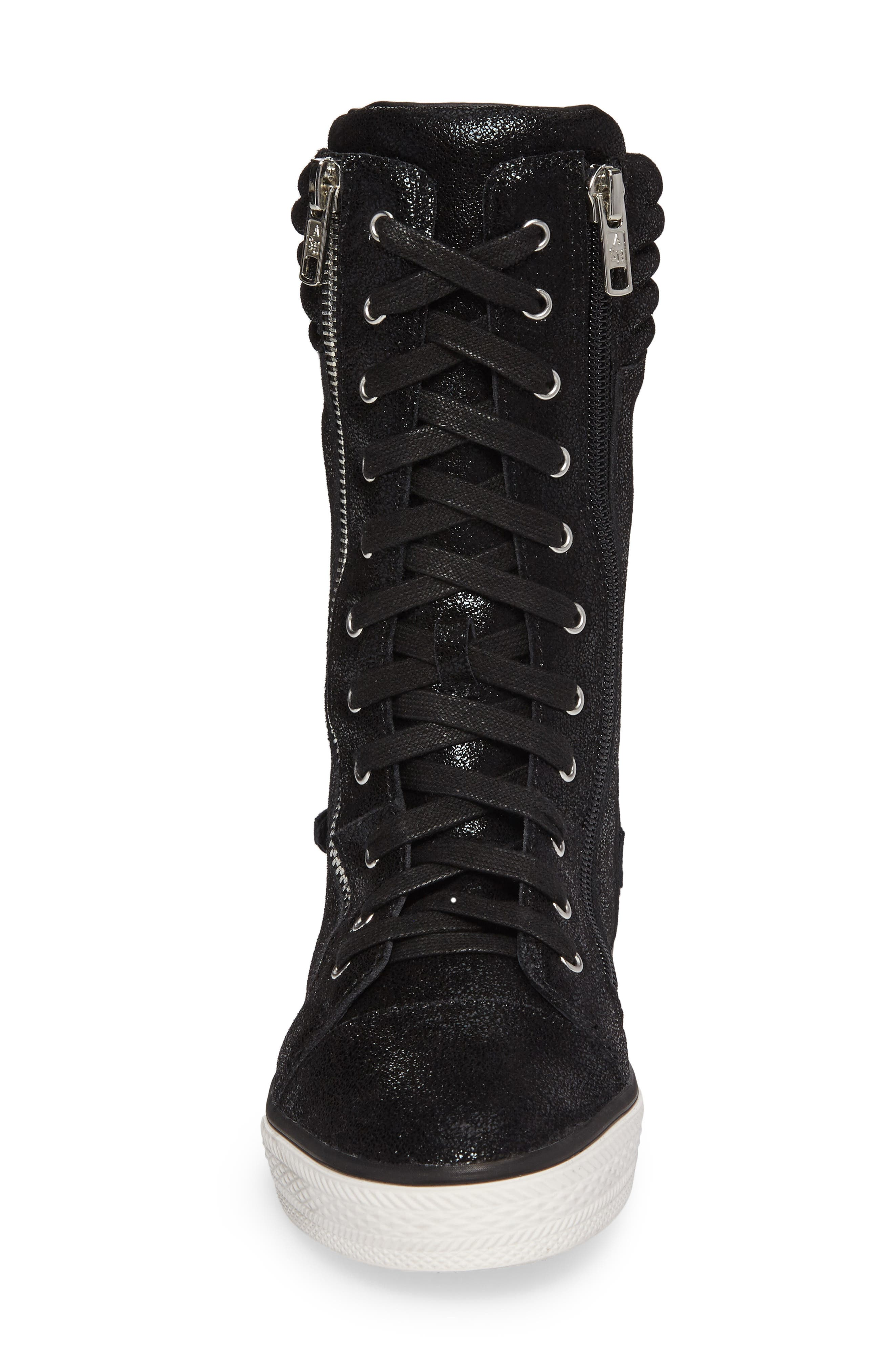 Vava Cate Ultra High Top Sneaker,                             Alternate thumbnail 4, color,                             001