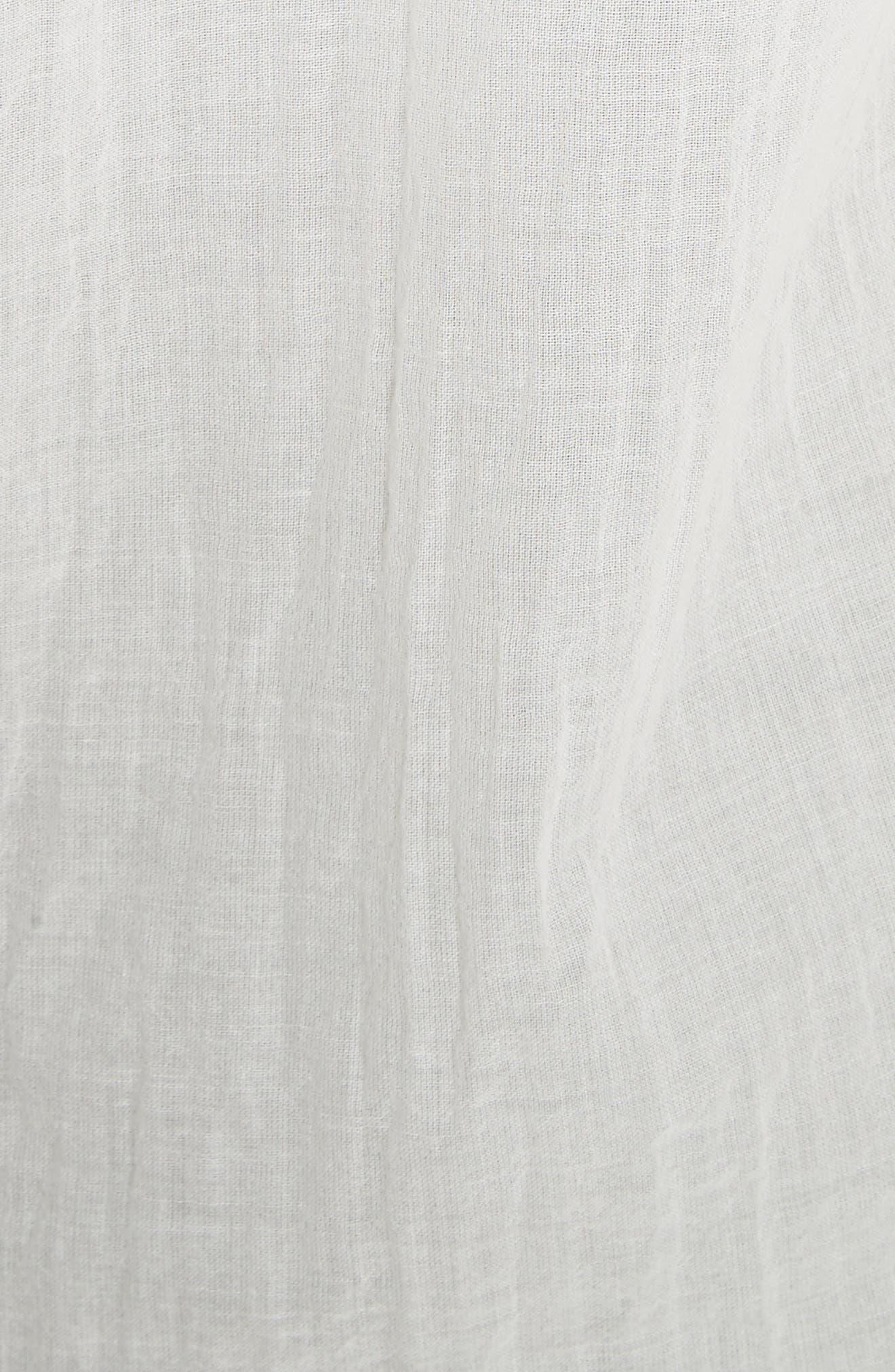 Essential Button-Down Cotton Shirt,                             Alternate thumbnail 10, color,