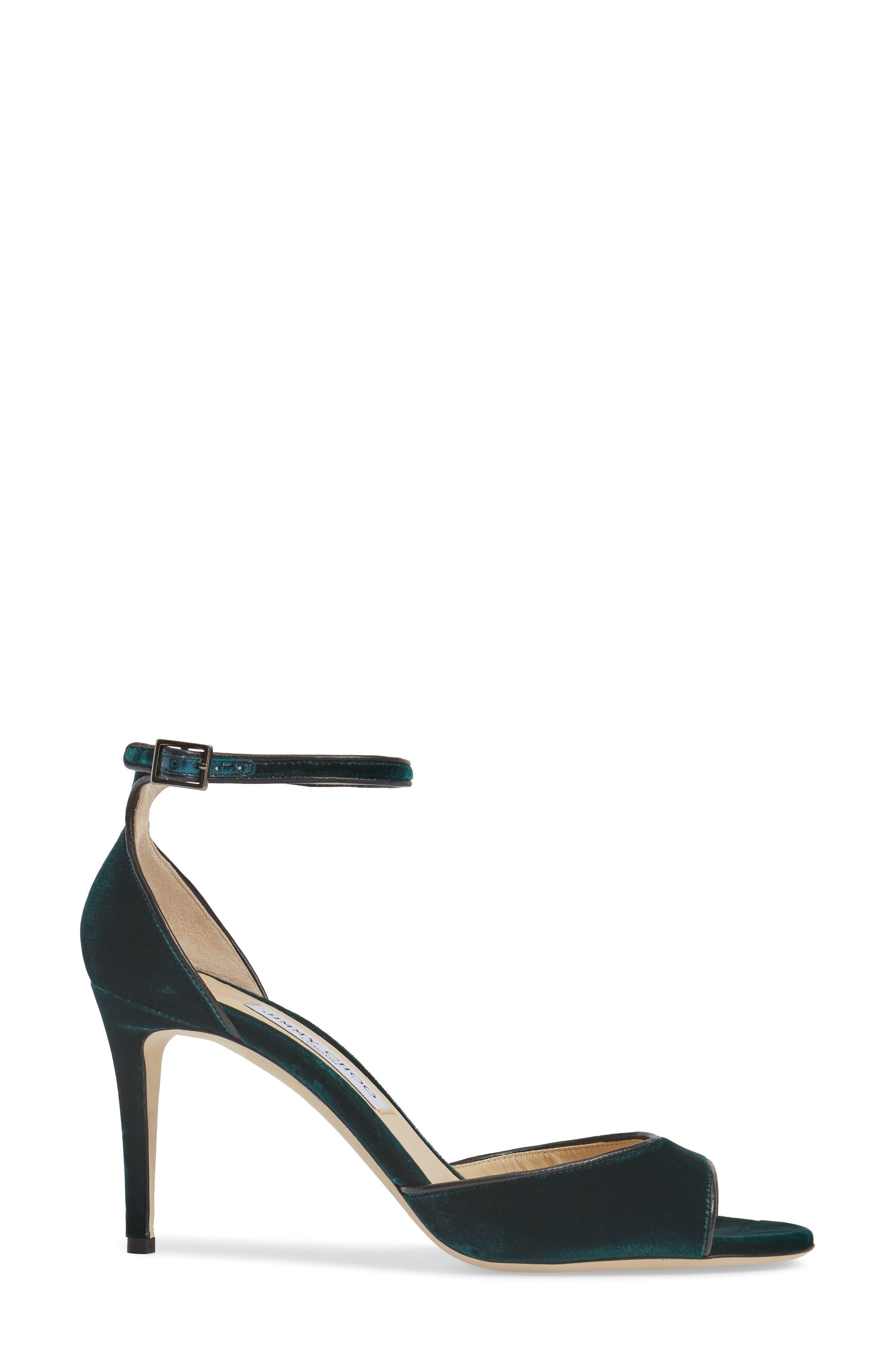 Annie Ankle Strap Sandal,                             Alternate thumbnail 3, color,                             300