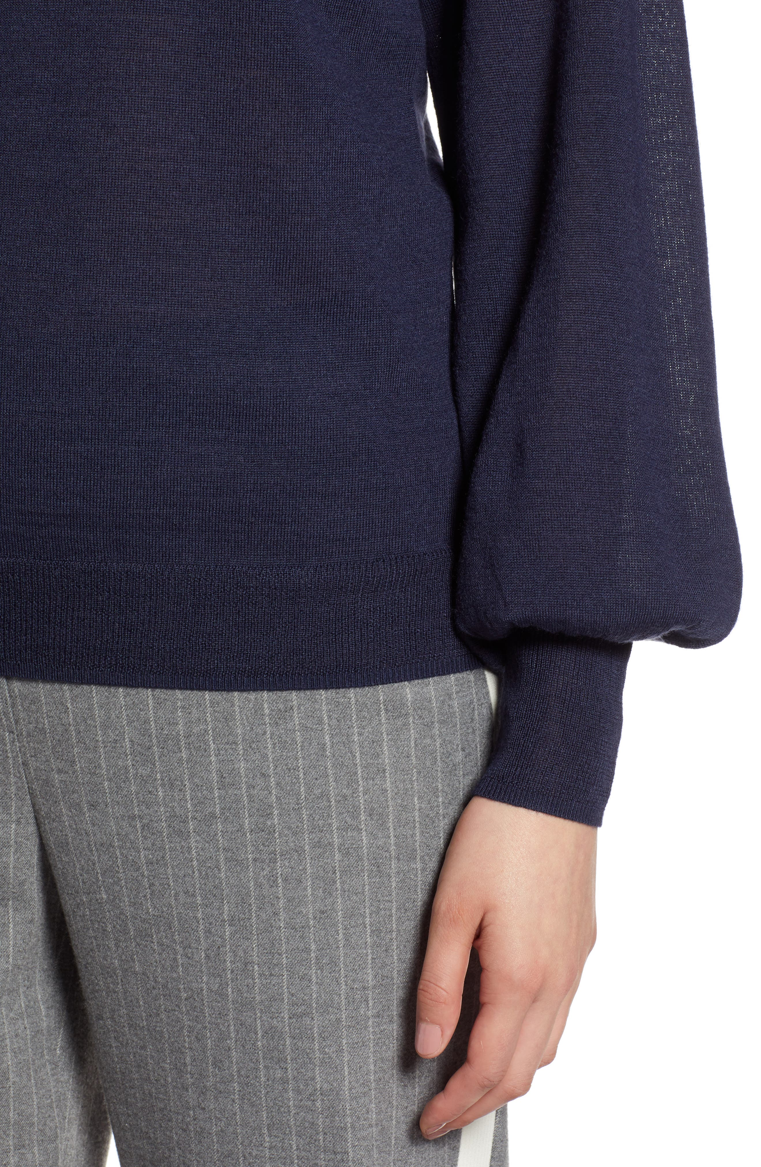 Puff Sleeve Sweater,                             Alternate thumbnail 36, color,