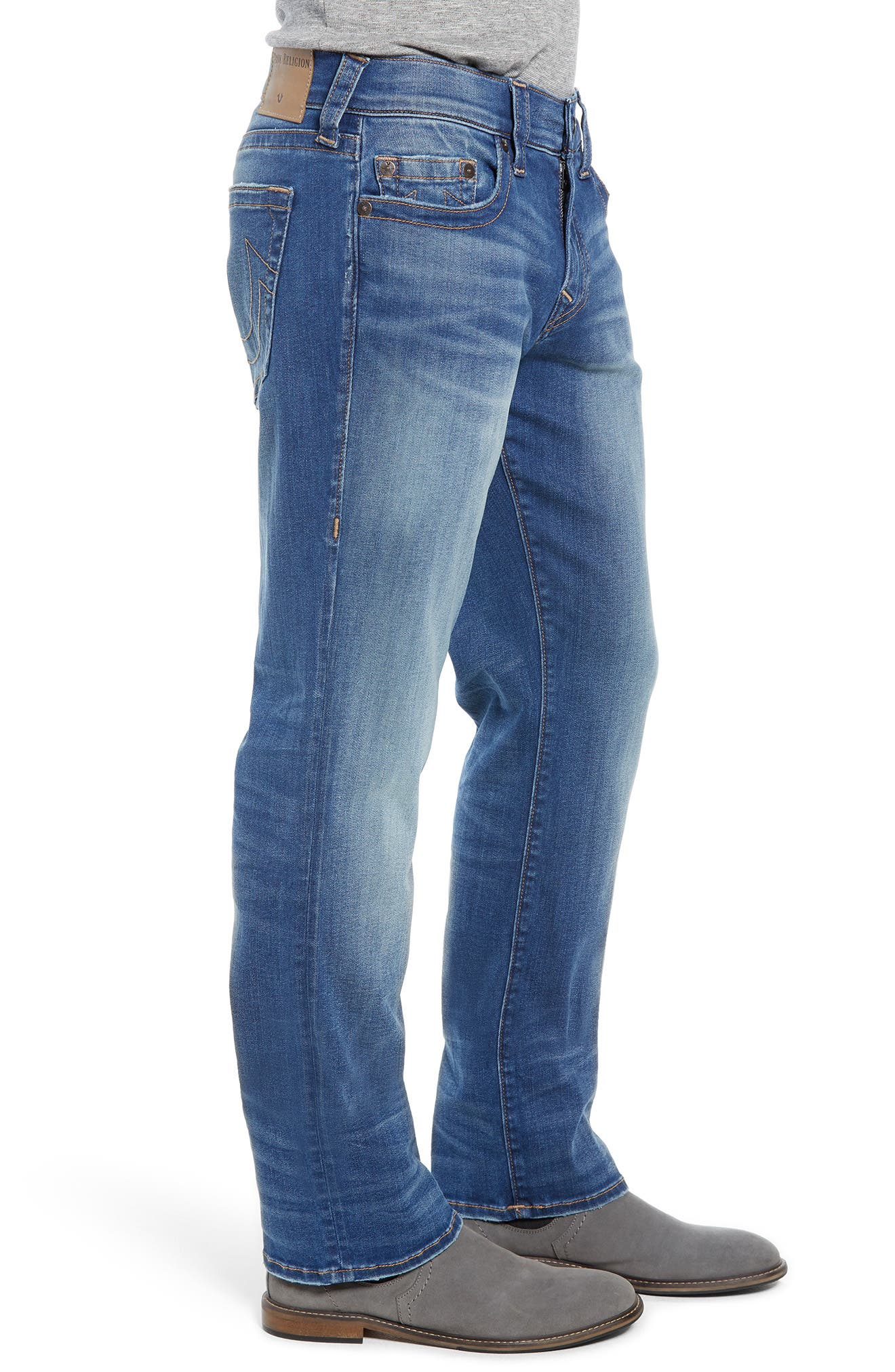 Ricky Relaxed Fit Jeans,                             Alternate thumbnail 3, color,                             SUPERNOVA BLUES