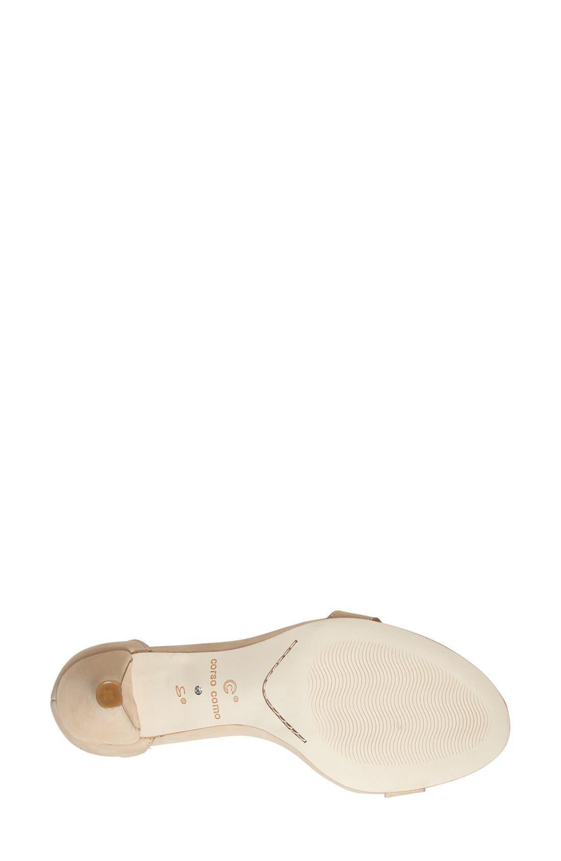 CC Corso Como 'Caitlyn' Sandal,                             Alternate thumbnail 4, color,                             251