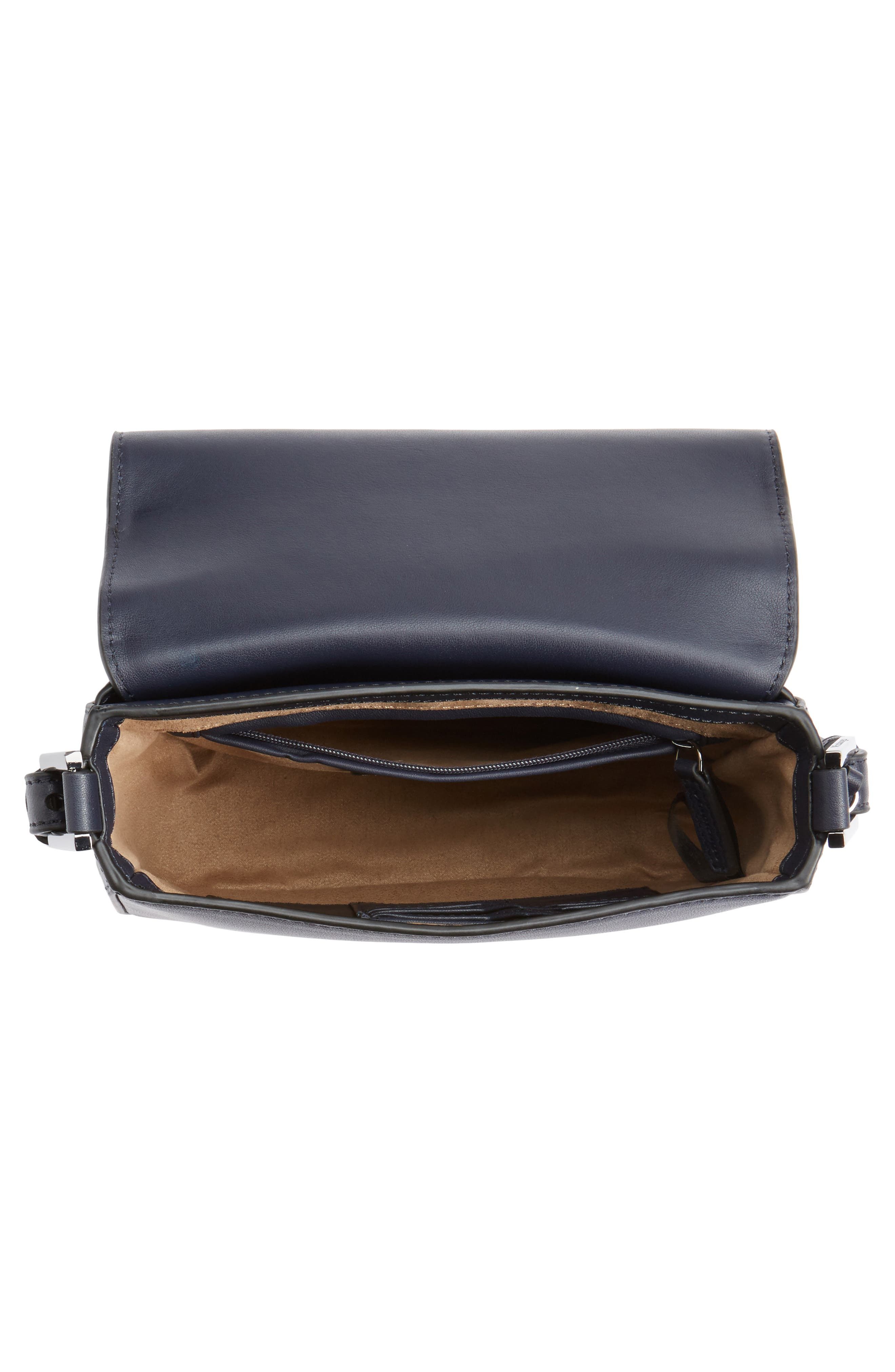 Dion Nappa Leather Crossbody Bag,                             Alternate thumbnail 4, color,                             481