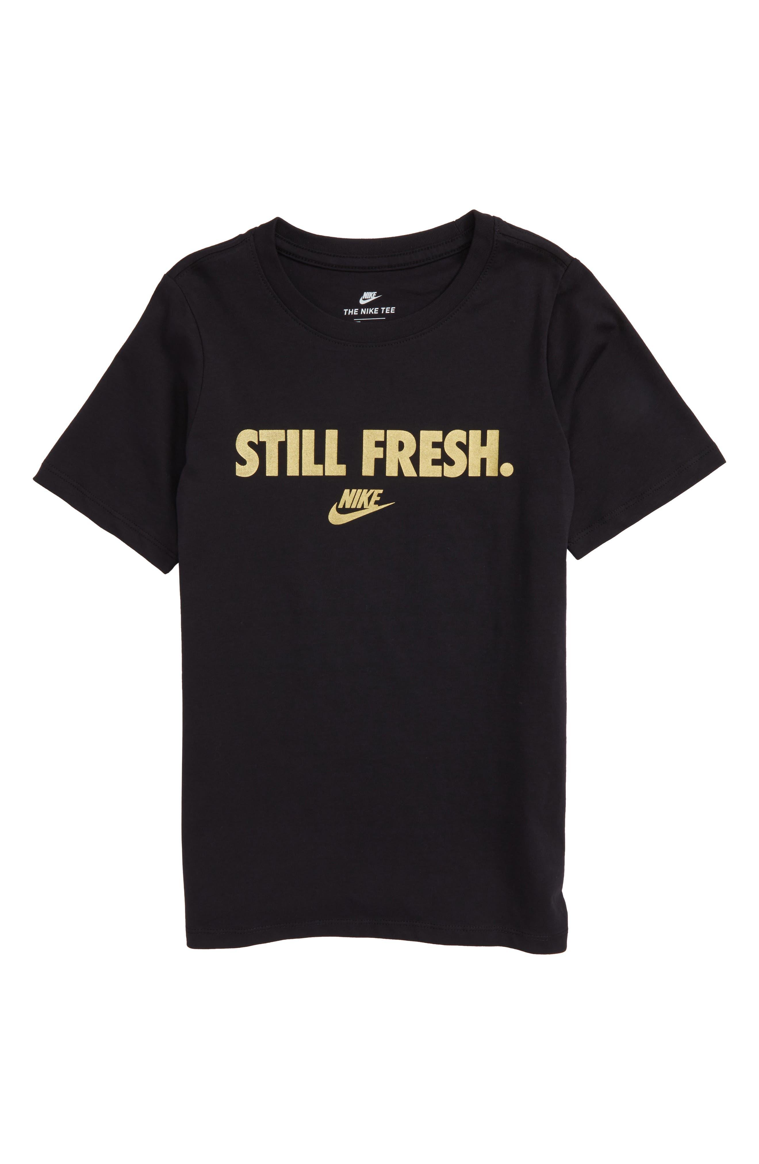 Sportswear Still Fresh Graphic T-Shirt,                             Main thumbnail 1, color,                             010