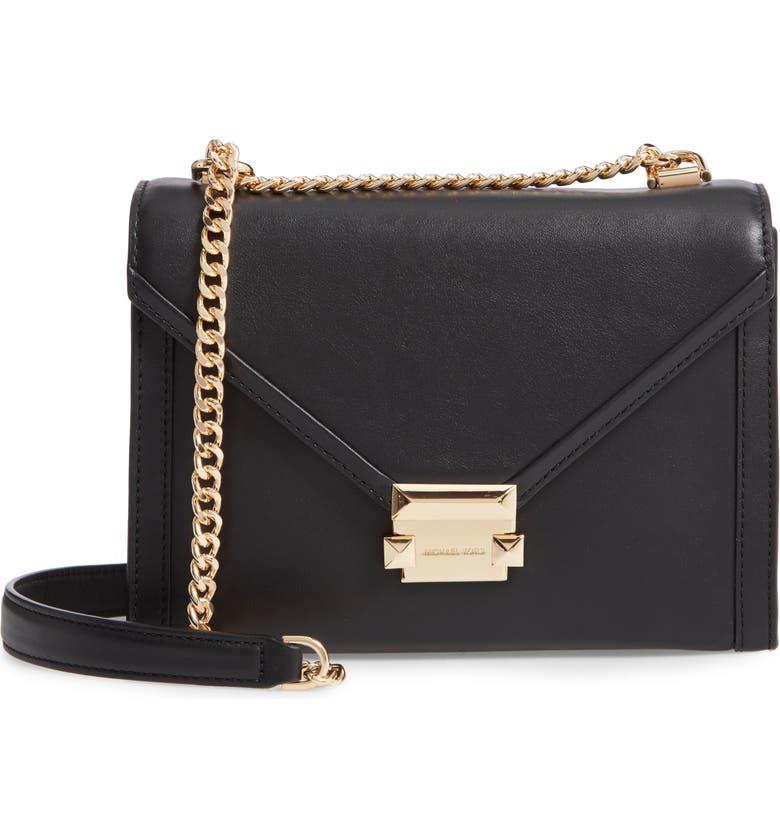 89fa6597d868 MICHAEL Michael Kors Large Whitney Leather Shoulder Bag