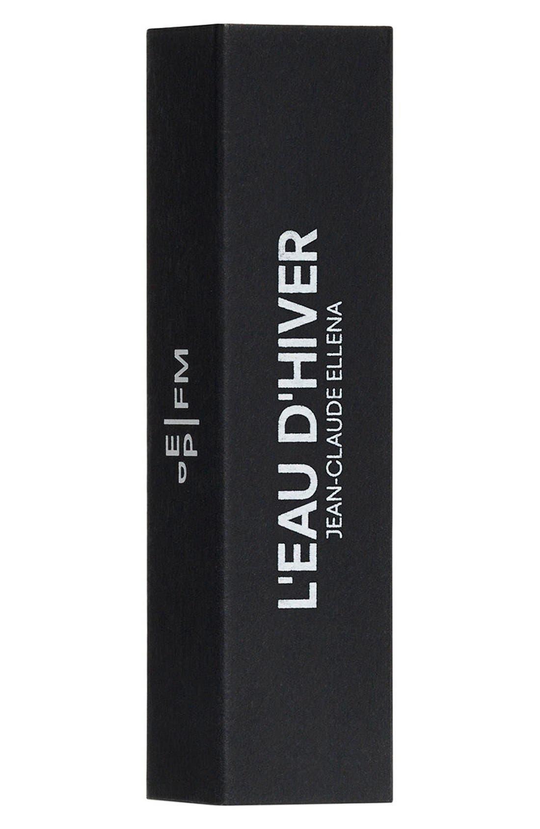 Editions de Parfums Frédéric Malle L'Eau d'Hiver Fragrance Travel Spray,                             Alternate thumbnail 5, color,                             000
