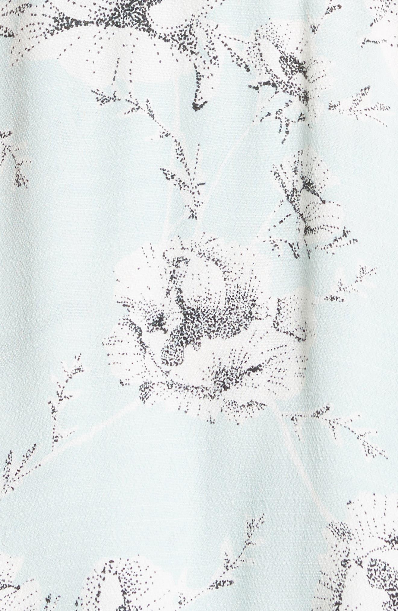 French Quarter Print Wrap Minidress,                             Alternate thumbnail 22, color,