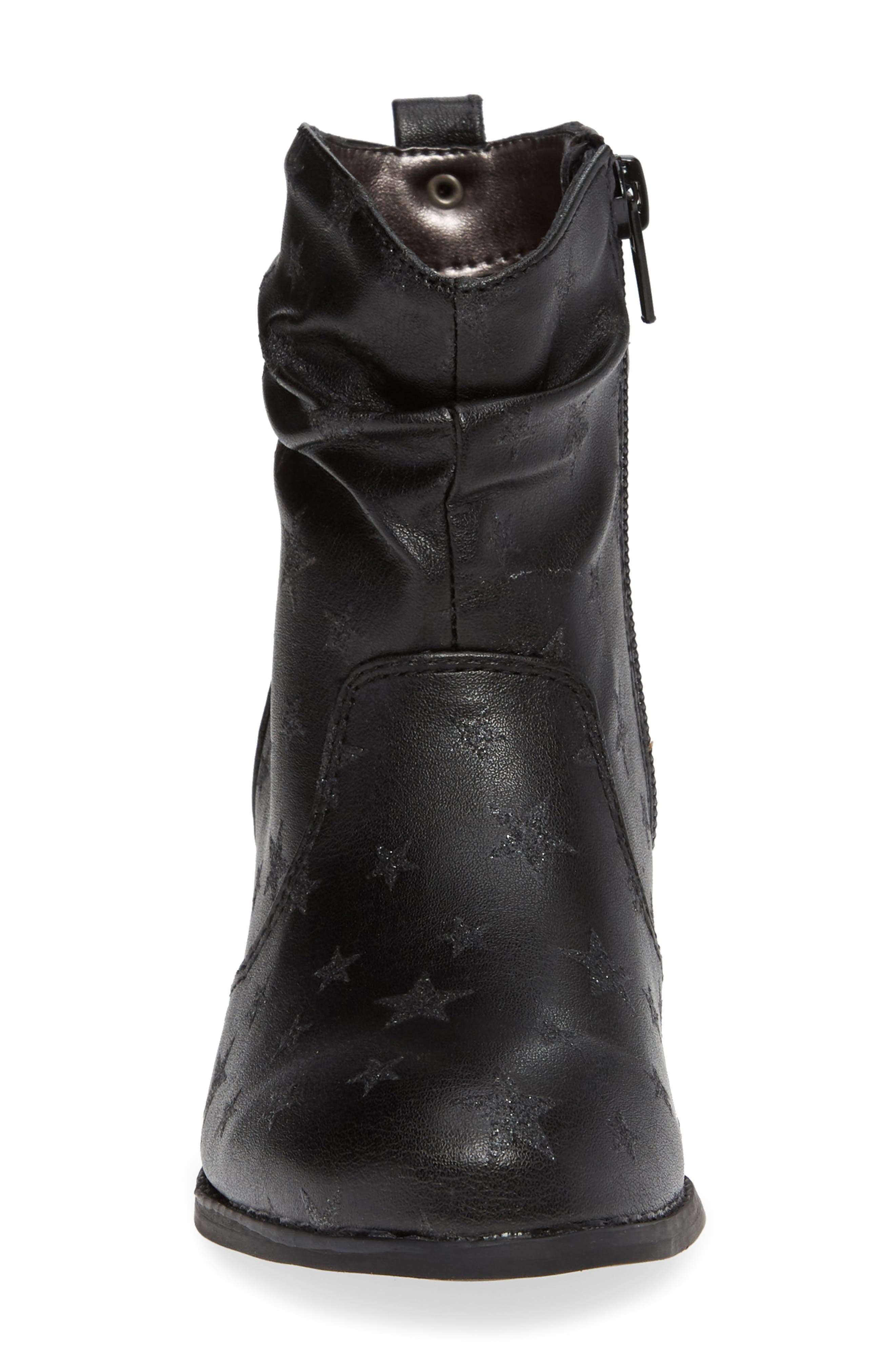 JCountry Slouch Bootie,                             Alternate thumbnail 4, color,                             BLACK