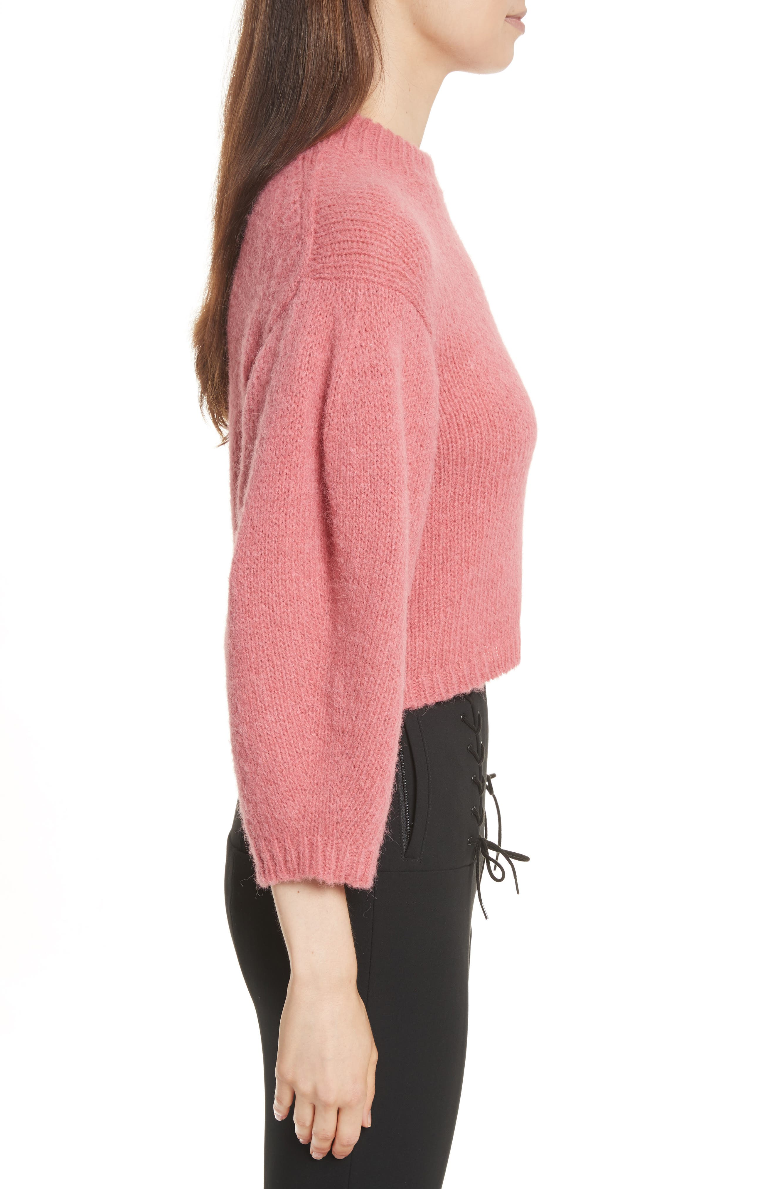 Cozette Cropped Pullover,                             Alternate thumbnail 3, color,                             695