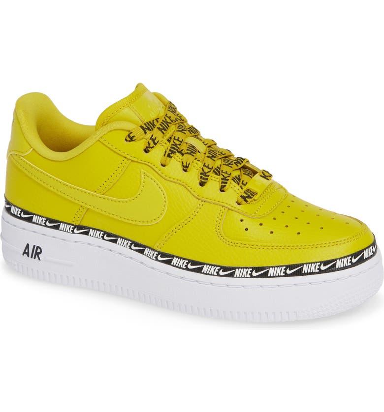 5191fc520282f Nike Women's Air Force 1 '07 Se Premium Casual Shoes, Yellow   ModeSens