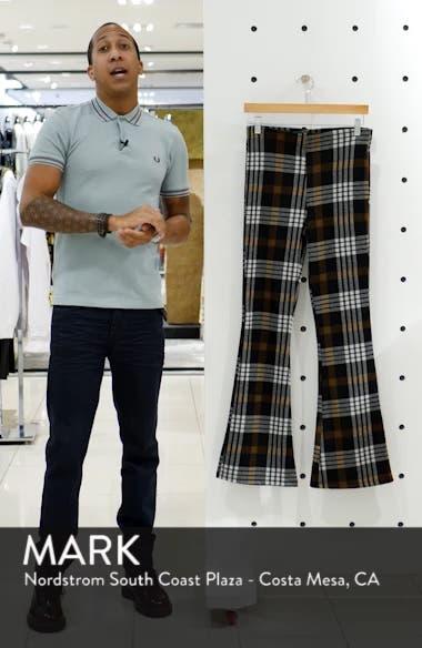 Plaid Flare Pants, sales video thumbnail