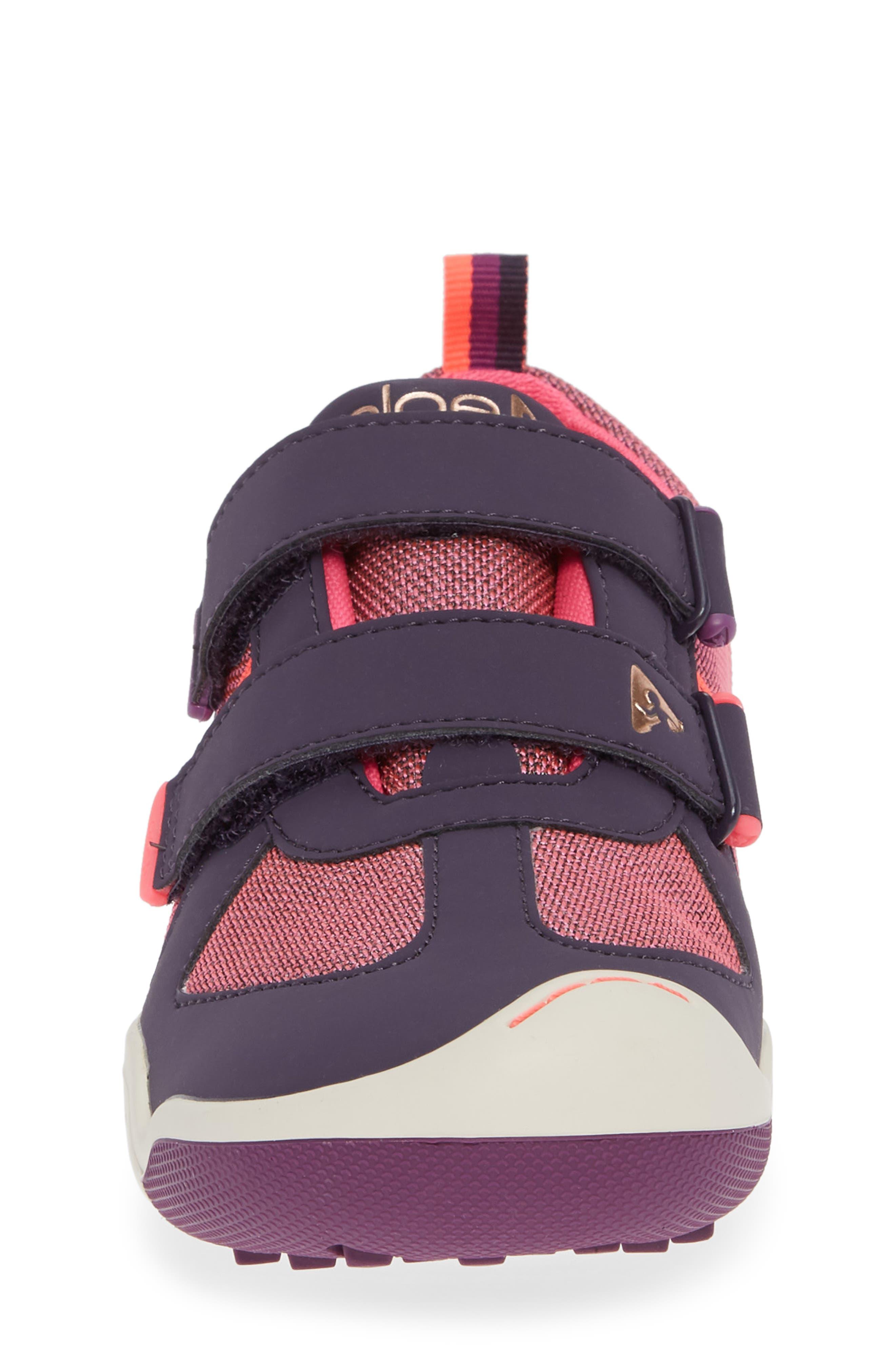 Charlie Customizable Waterproof Sneaker,                             Alternate thumbnail 4, color,                             MYSTIC BERRY