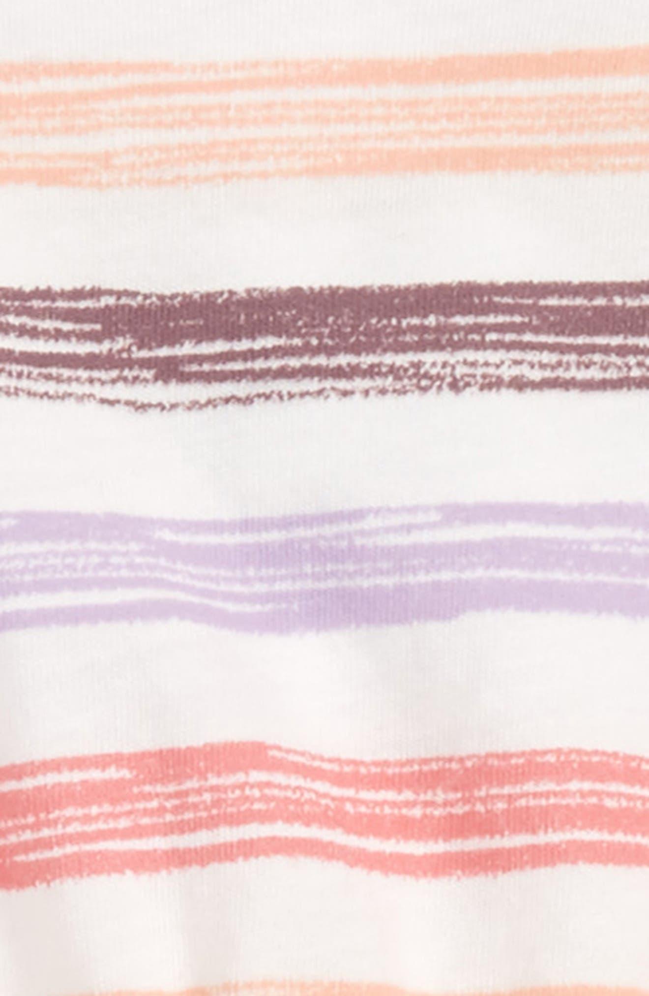 Stripe Romper,                             Alternate thumbnail 2, color,                             IVORY