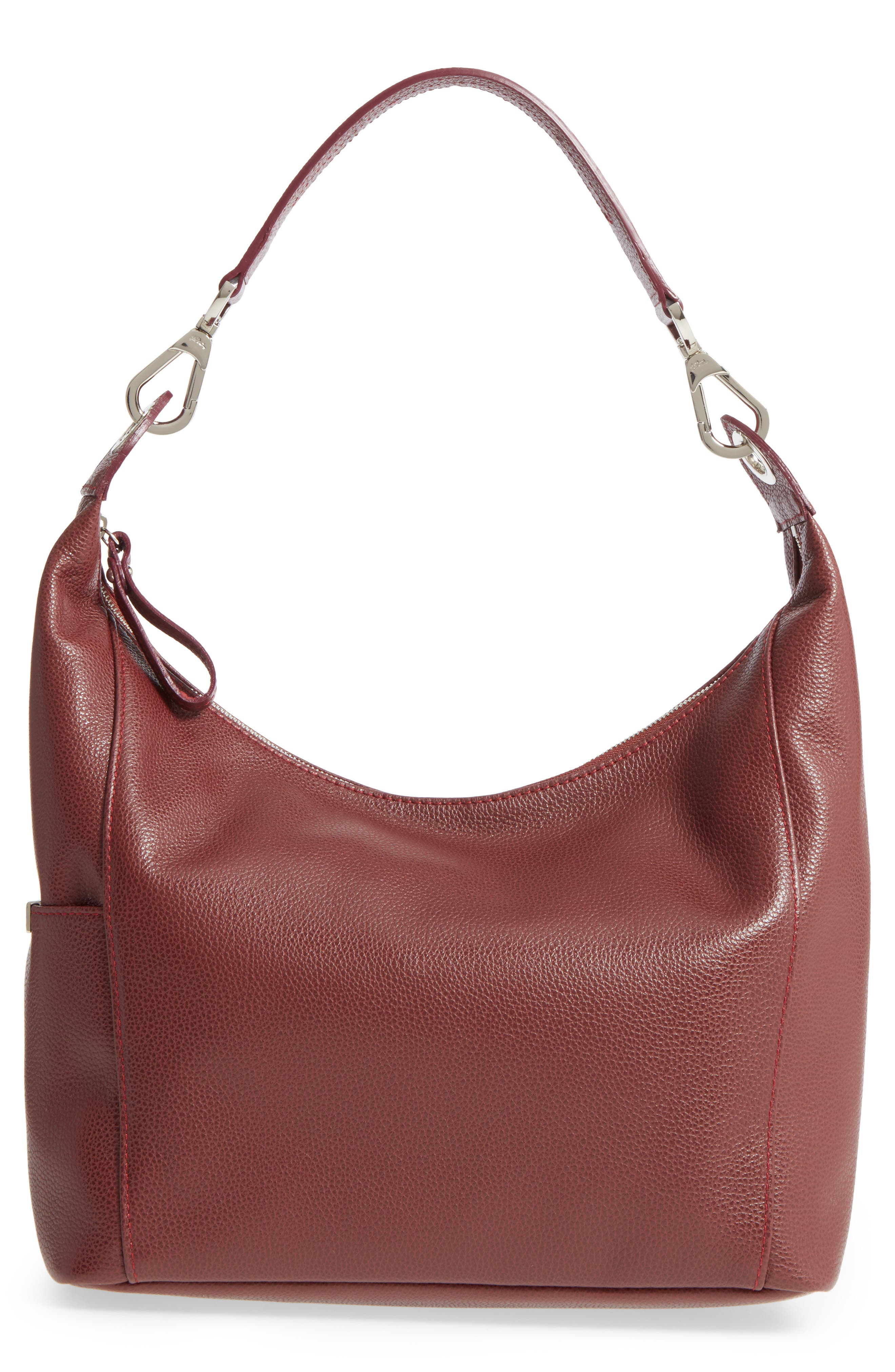 'Le Foulonne' Leather Hobo Bag,                         Main,                         color, 618