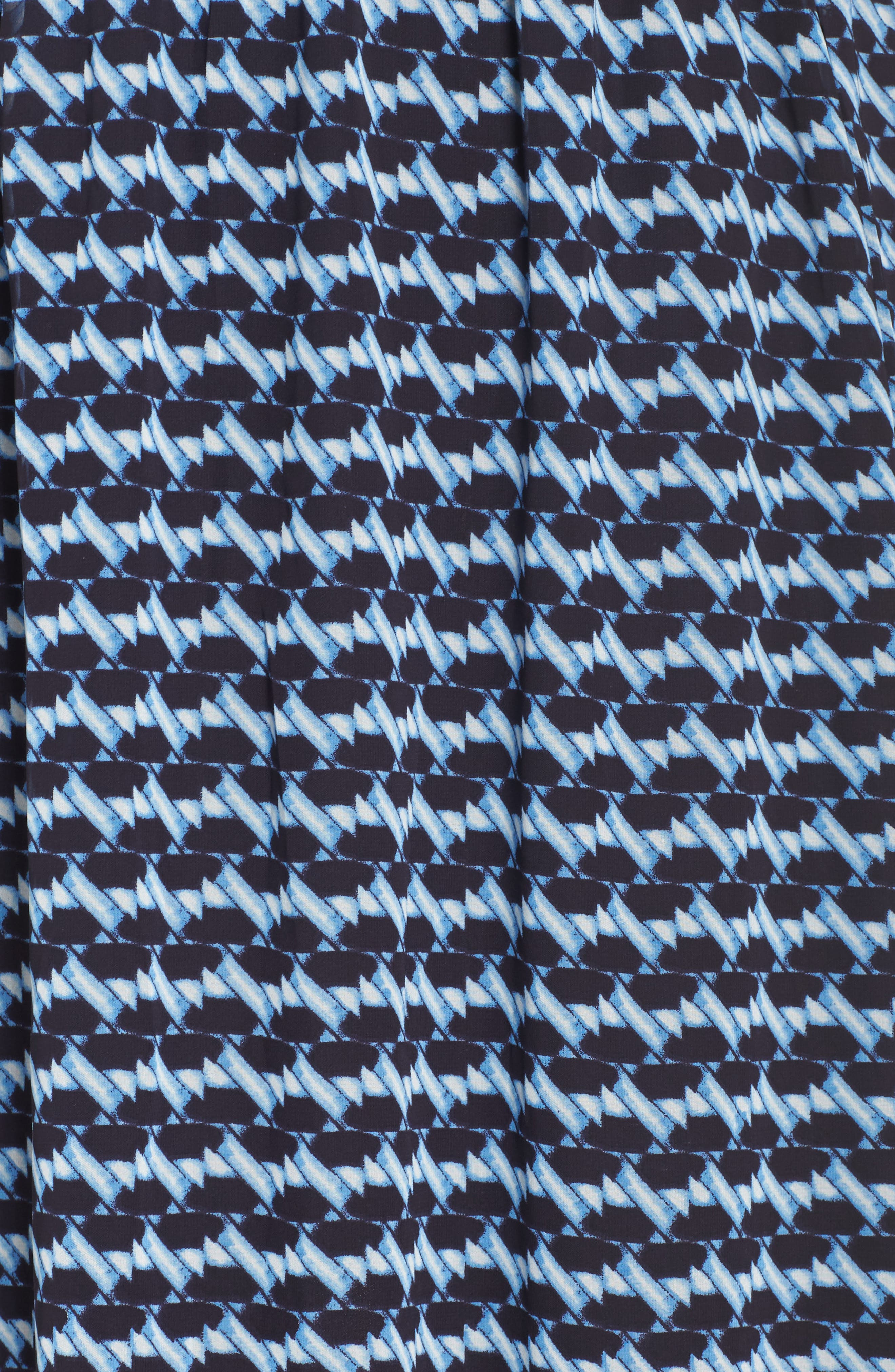 Ruffle Sleeve Chiffon Maxi Dress,                             Alternate thumbnail 5, color,                             400