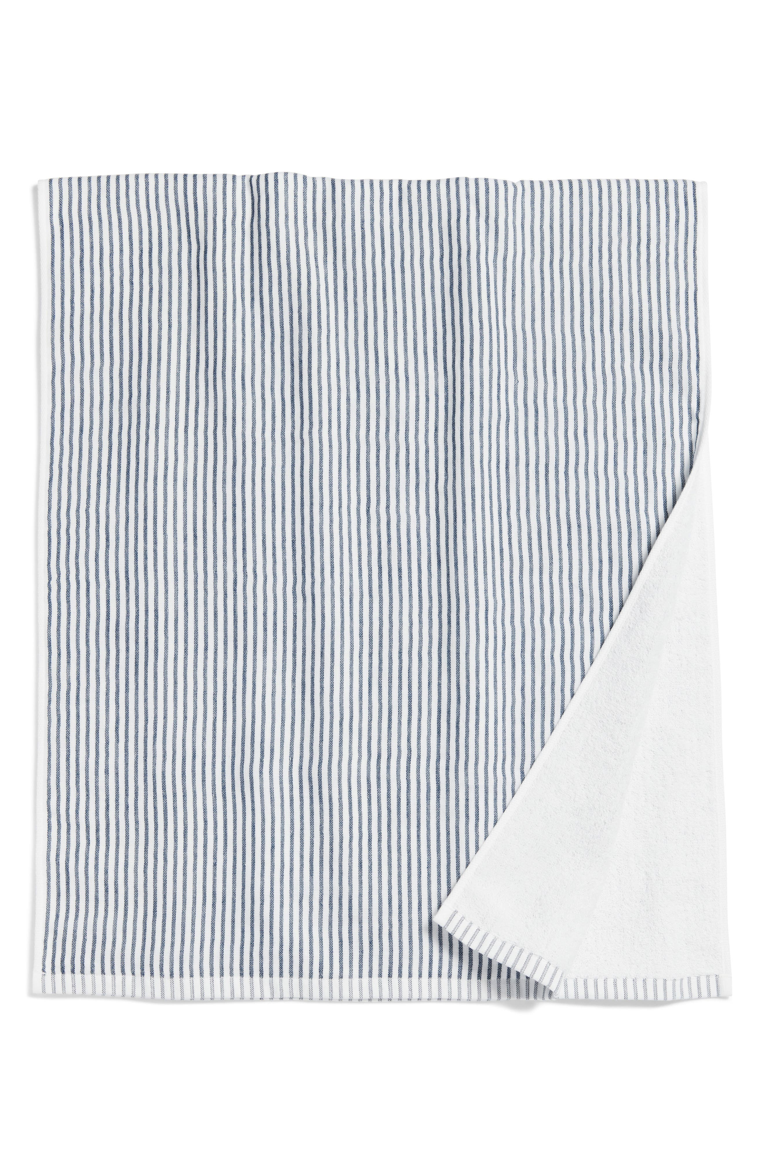 Morihata Shirt Stripe Compact Bath Towel Size One Size  None