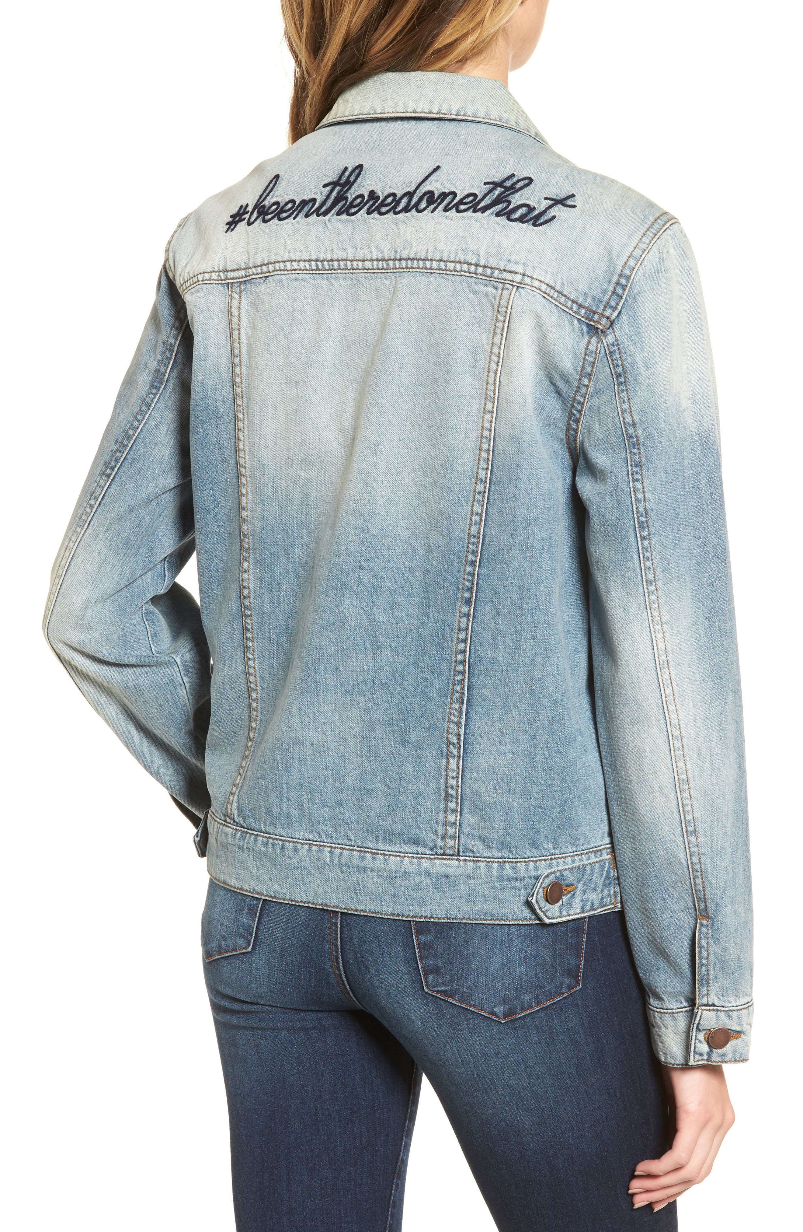 Been There Denim Jacket,                             Alternate thumbnail 2, color,                             400