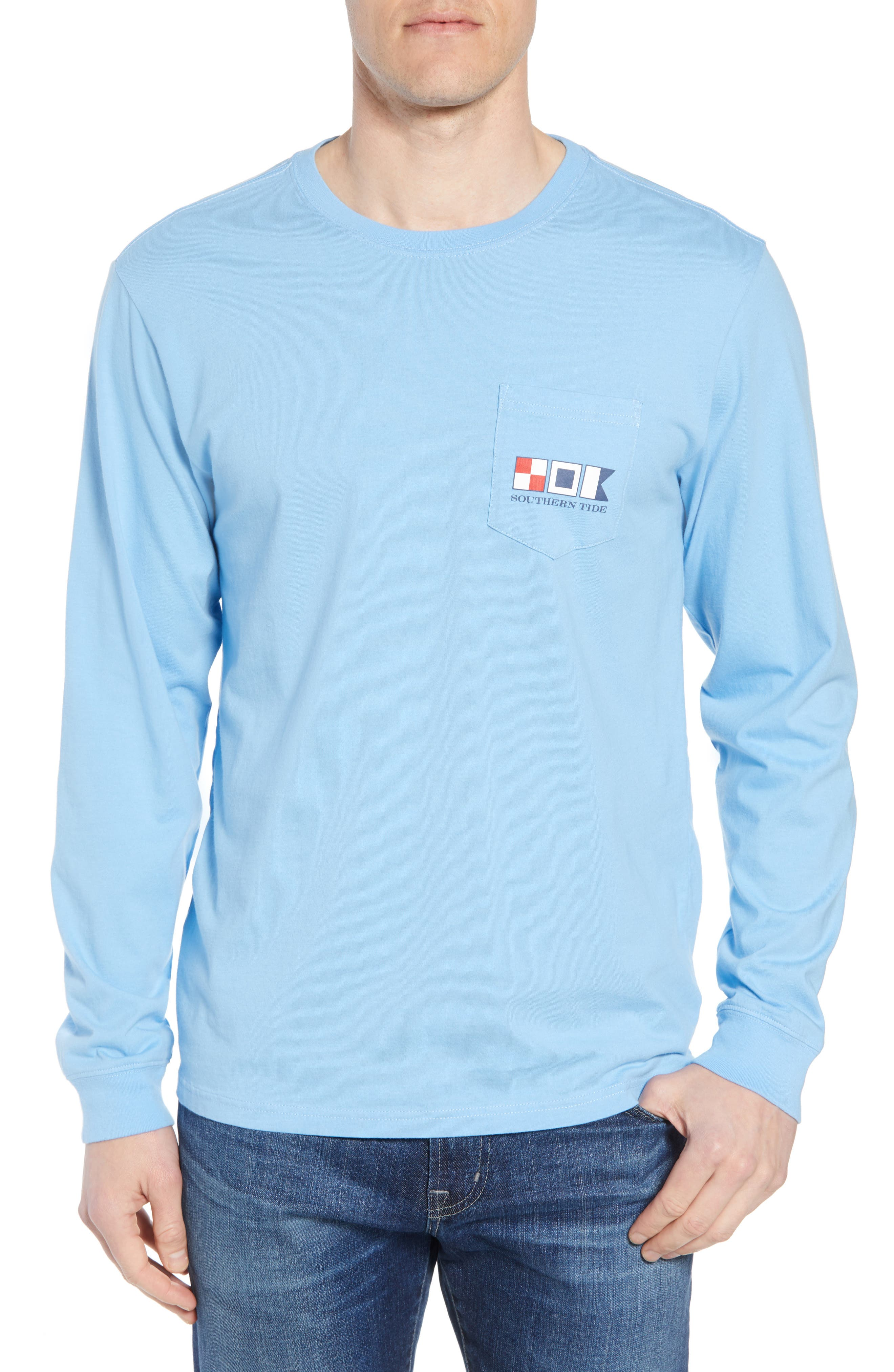 We the People Regular Fit Long Sleeve T-Shirt,                             Main thumbnail 1, color,                             392