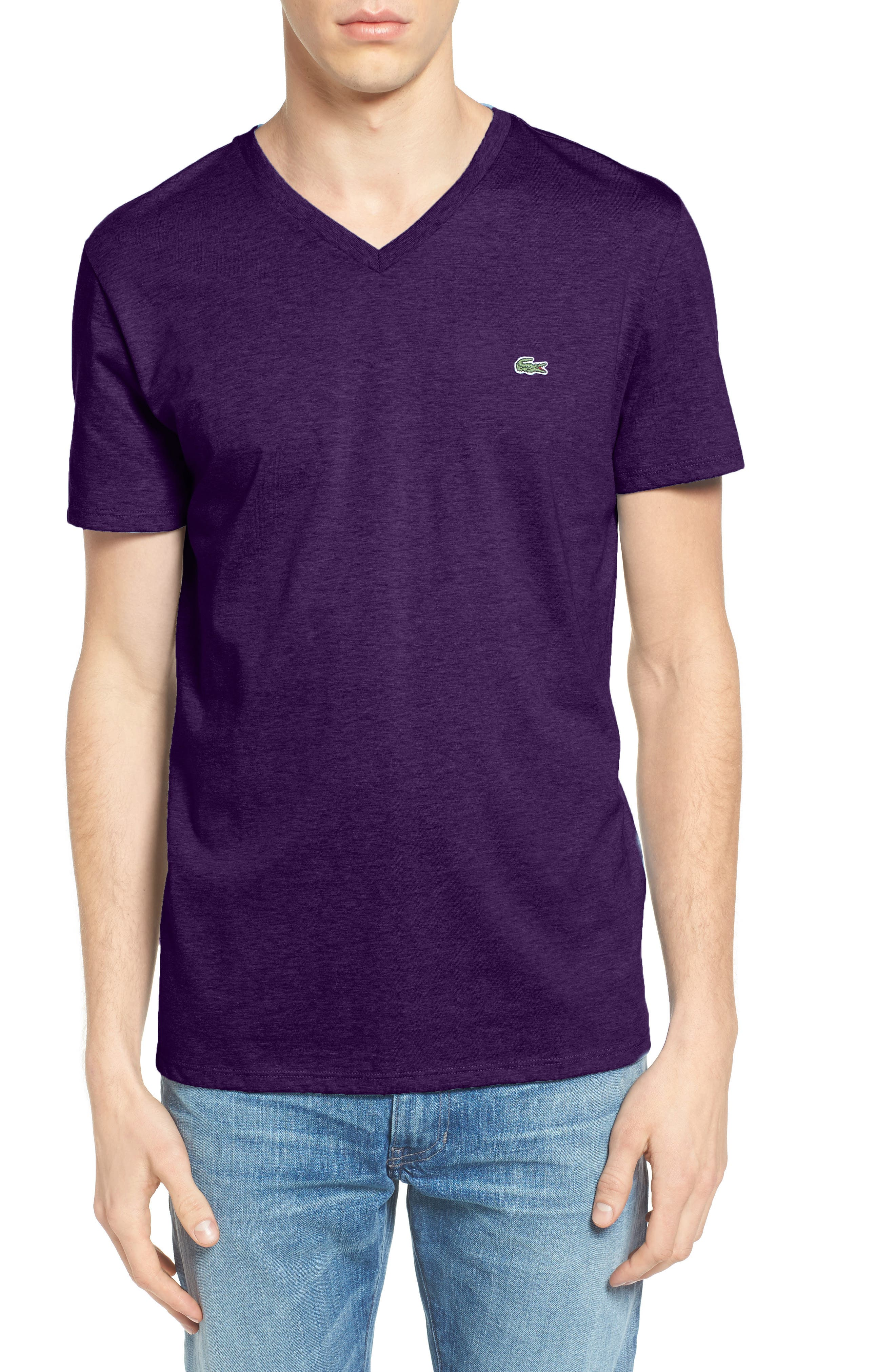 V-Neck T-Shirt,                             Main thumbnail 7, color,