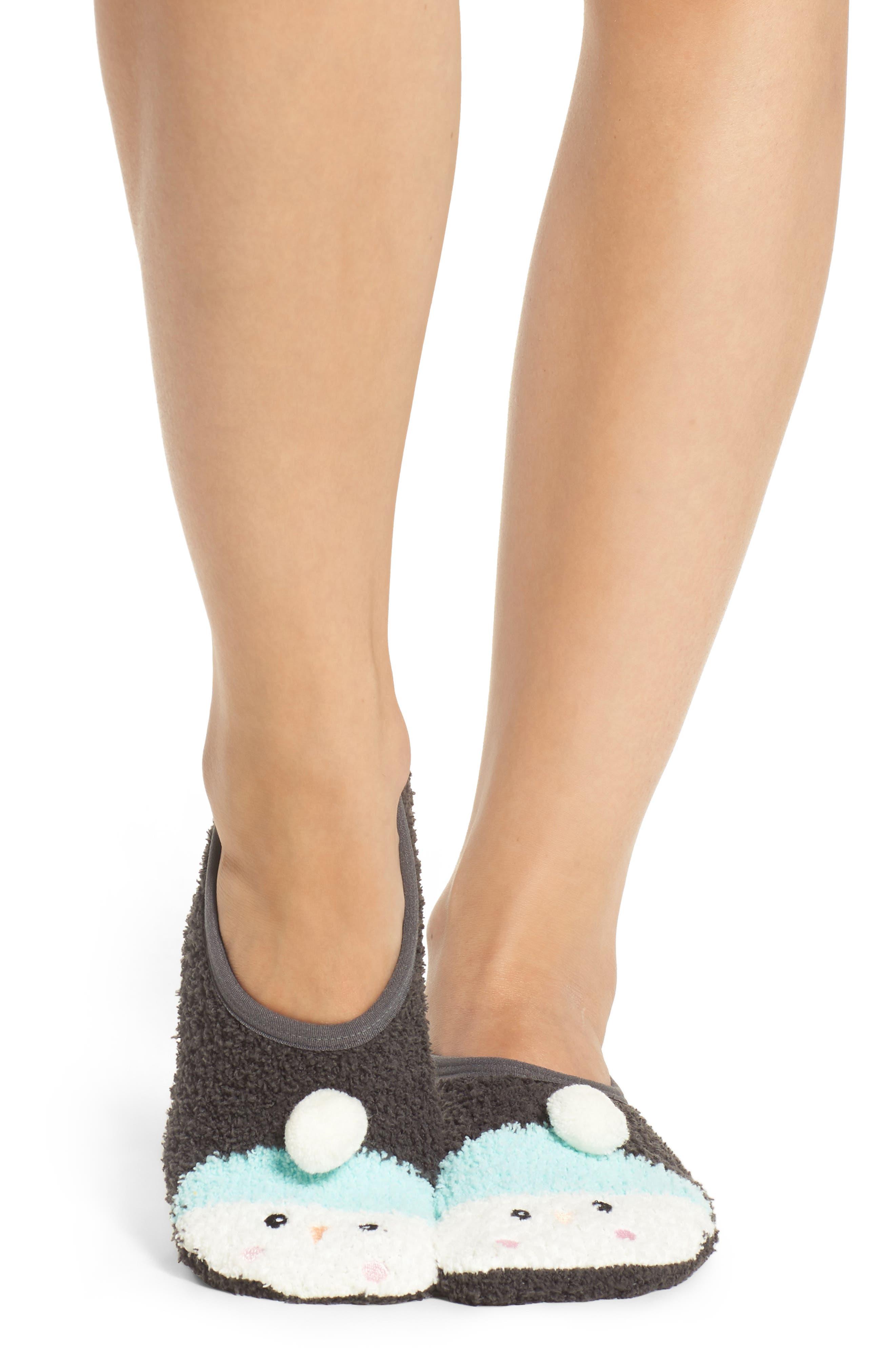 Plush Slipper Socks,                             Alternate thumbnail 2, color,                             020
