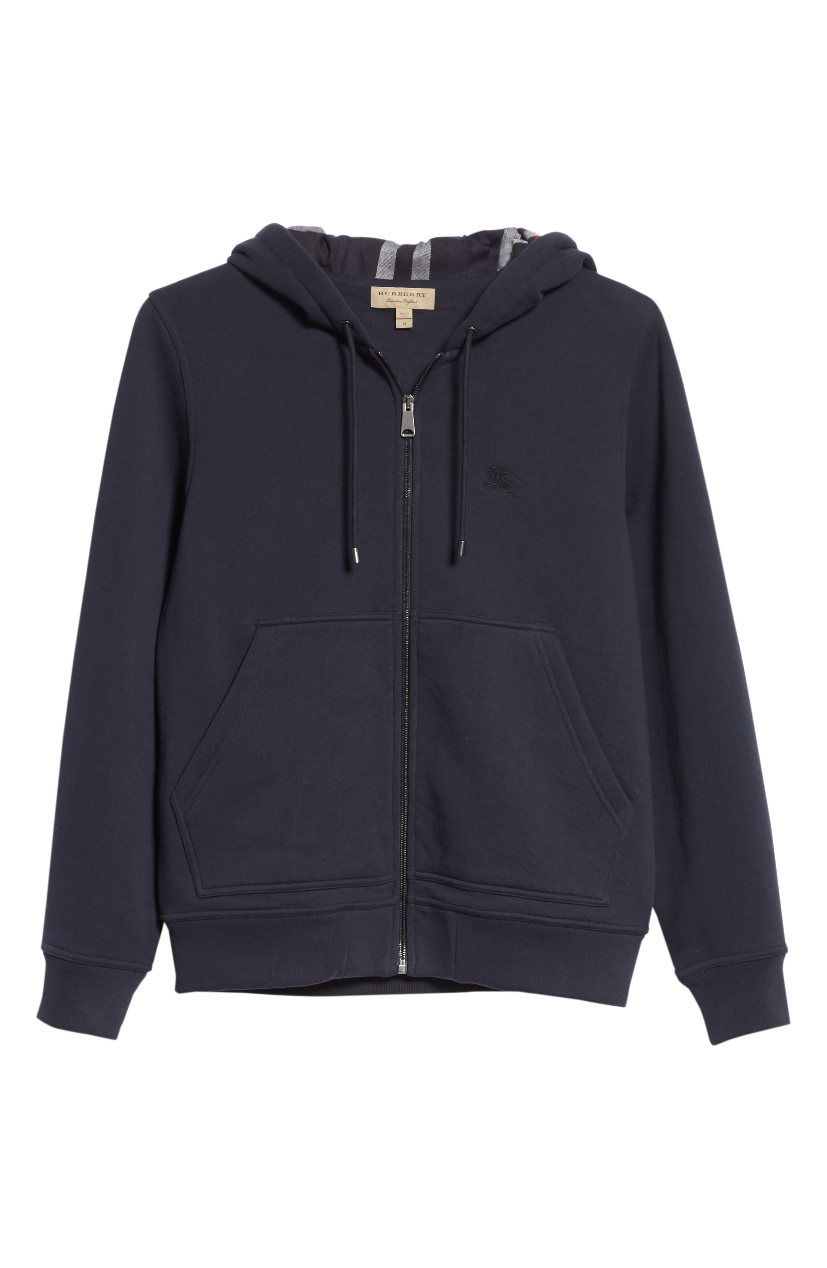 Zip Hoodie,                             Alternate thumbnail 6, color,                             NAVY