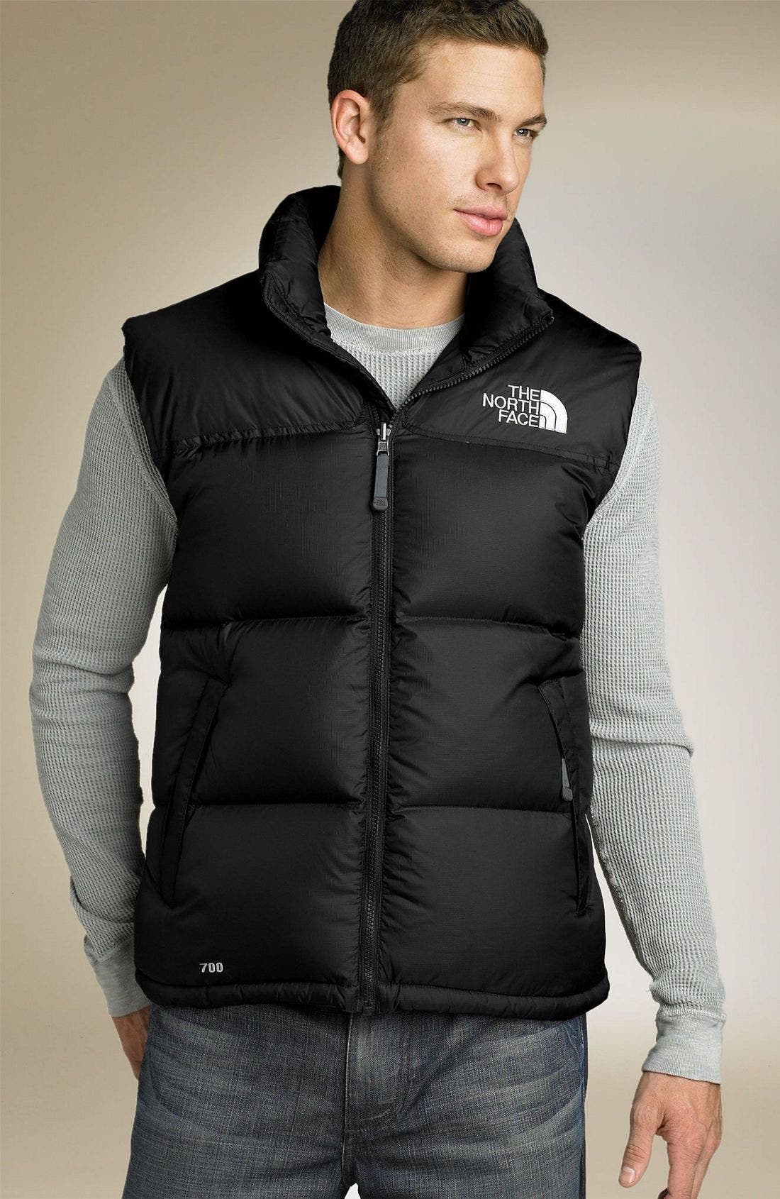 'Nuptse' Quilted Vest,                             Main thumbnail 4, color,