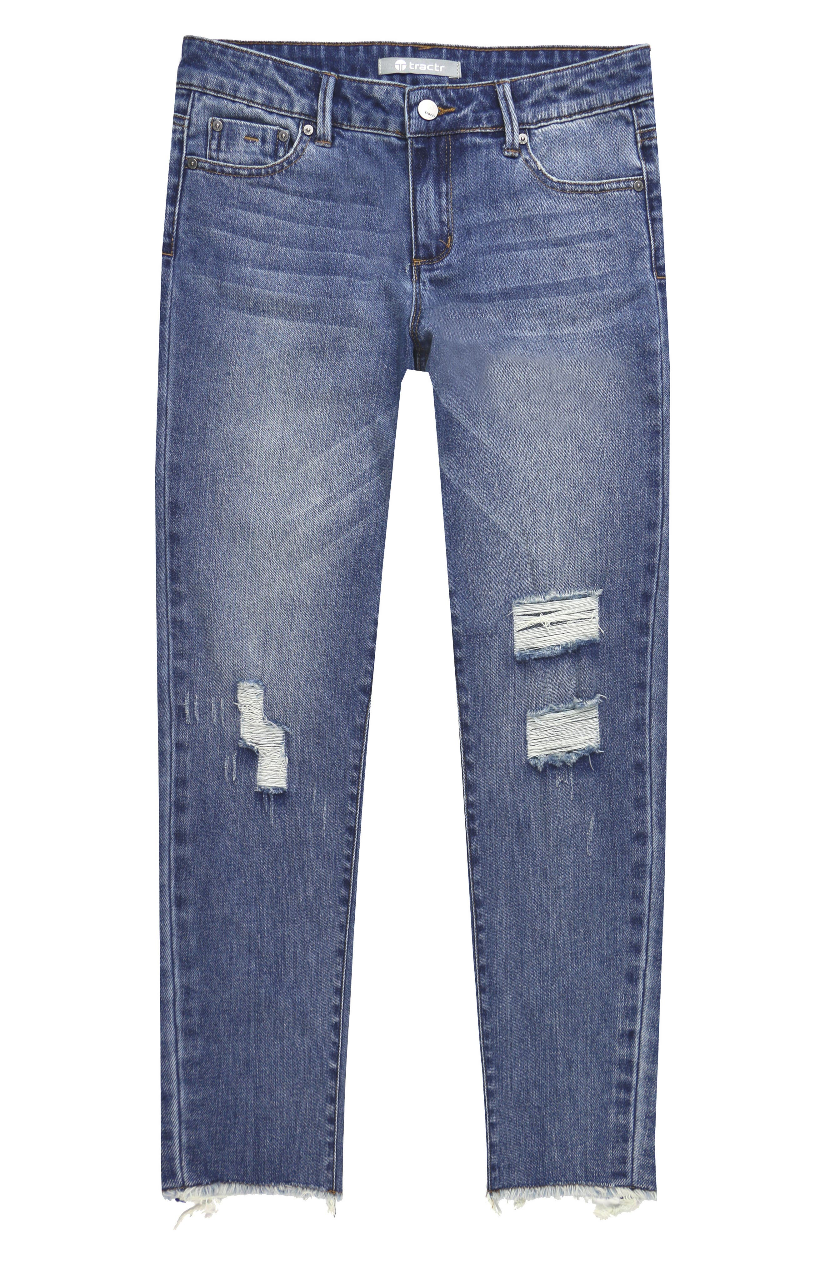 Distressed Jeans,                             Main thumbnail 1, color,                             407