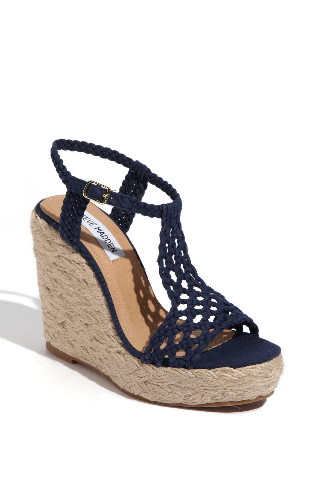 'Manngo' Woven Sandal,                             Main thumbnail 3, color,