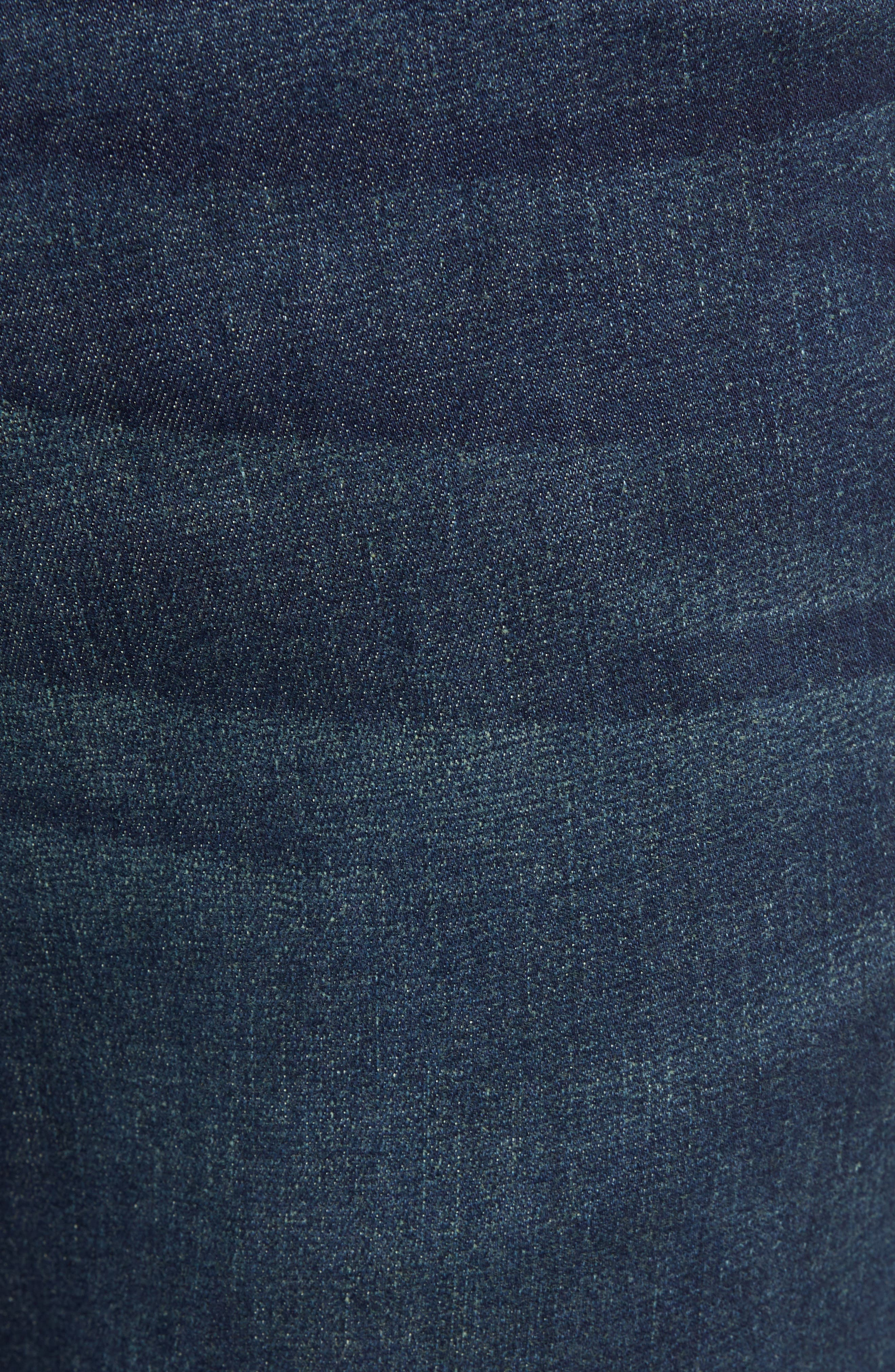 Costa Rica Vintage Regular Fit Jeans,                             Alternate thumbnail 5, color,                             RINSE WASH