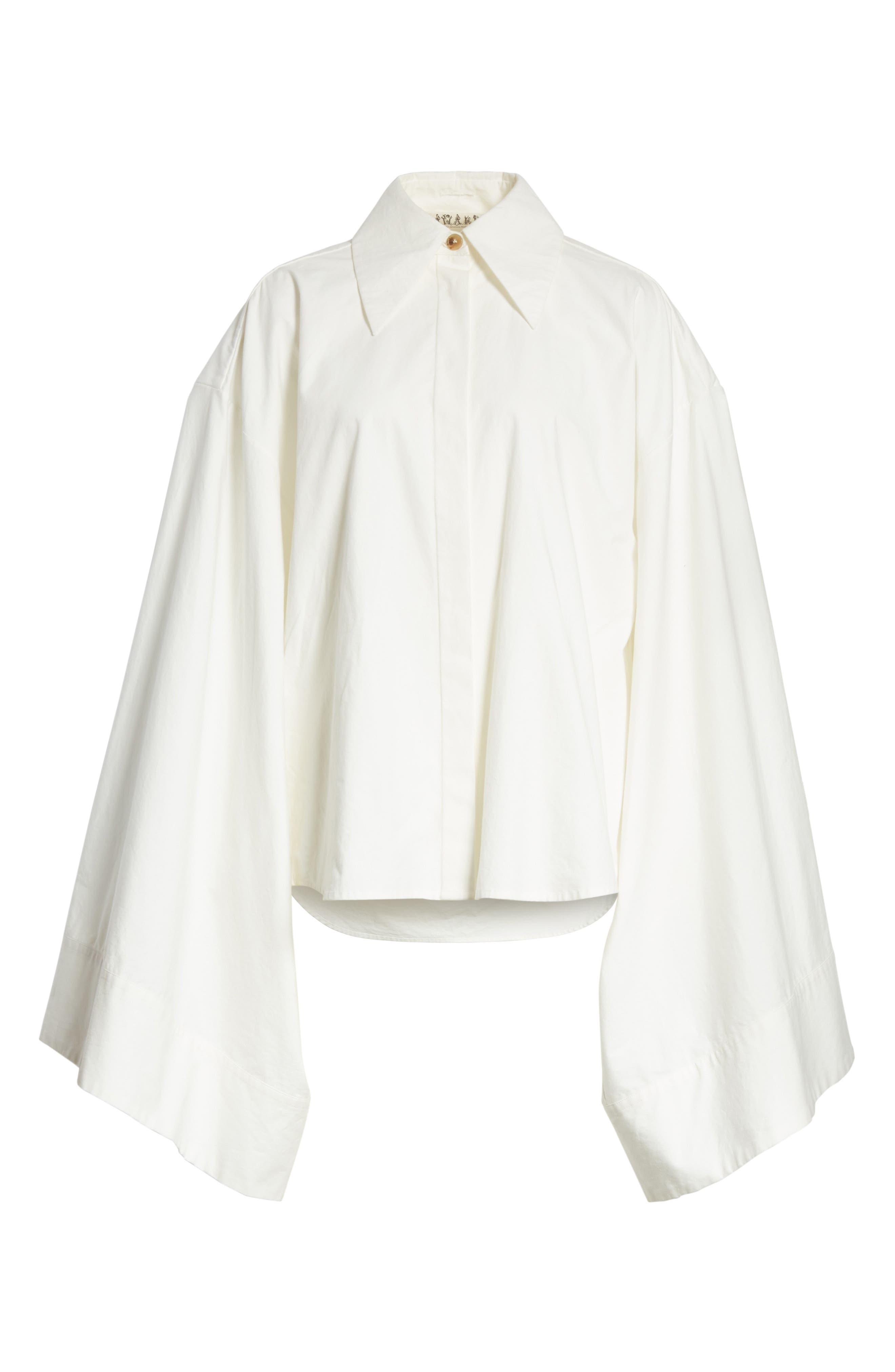 Kimono Sleeve Shirt,                             Alternate thumbnail 6, color,                             100