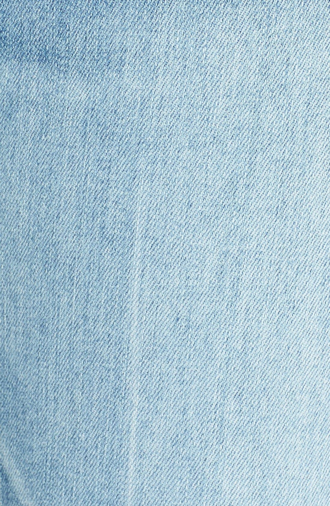 RAG & BONE,                             JEAN Distressed Crop Flare Jeans,                             Alternate thumbnail 3, color,                             451
