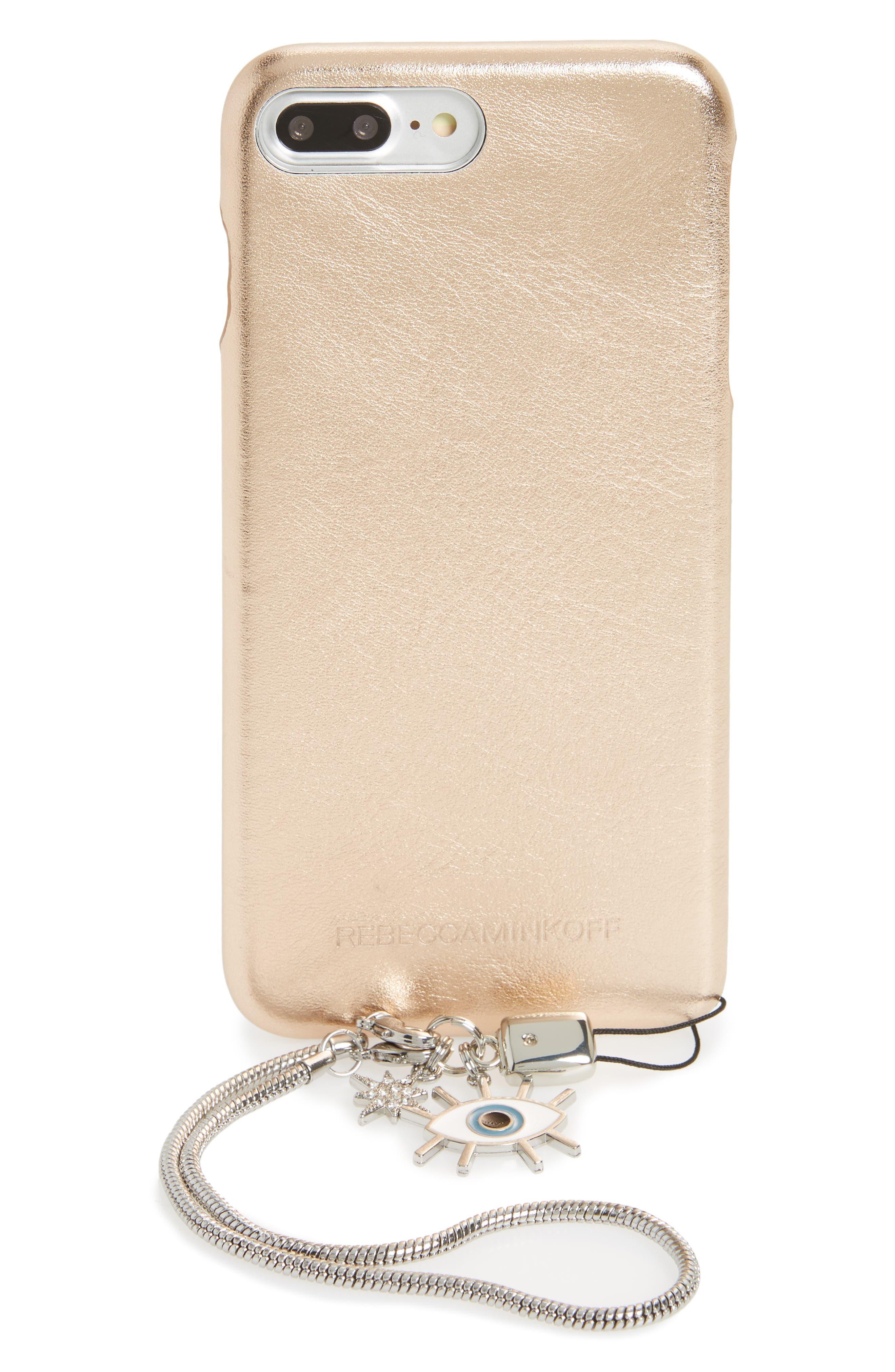 iPhone 7/8 & 7/8 Plus Leather Folio,                         Main,                         color, 650