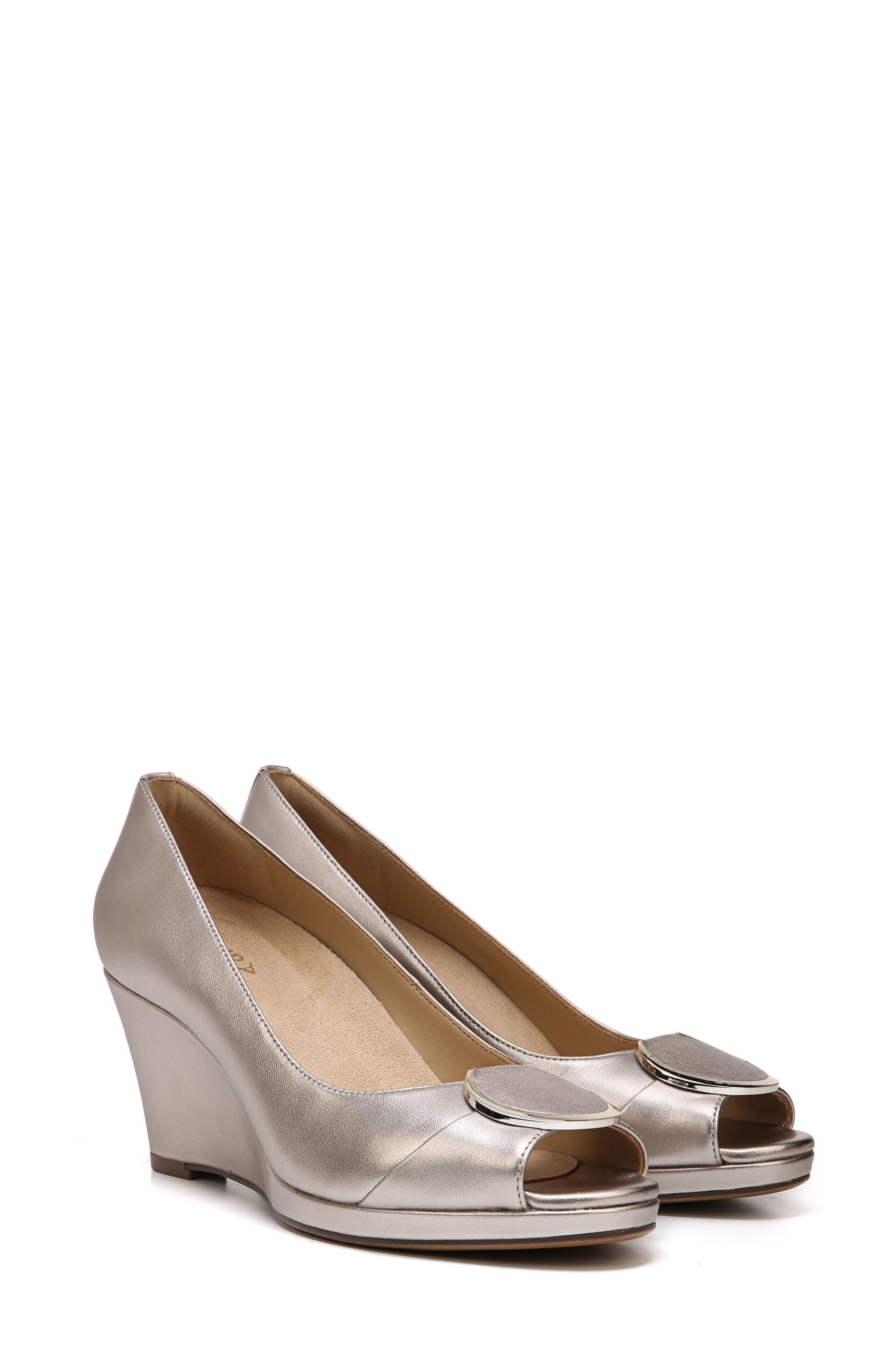 Ollie Peep Toe Wedge,                             Alternate thumbnail 21, color,