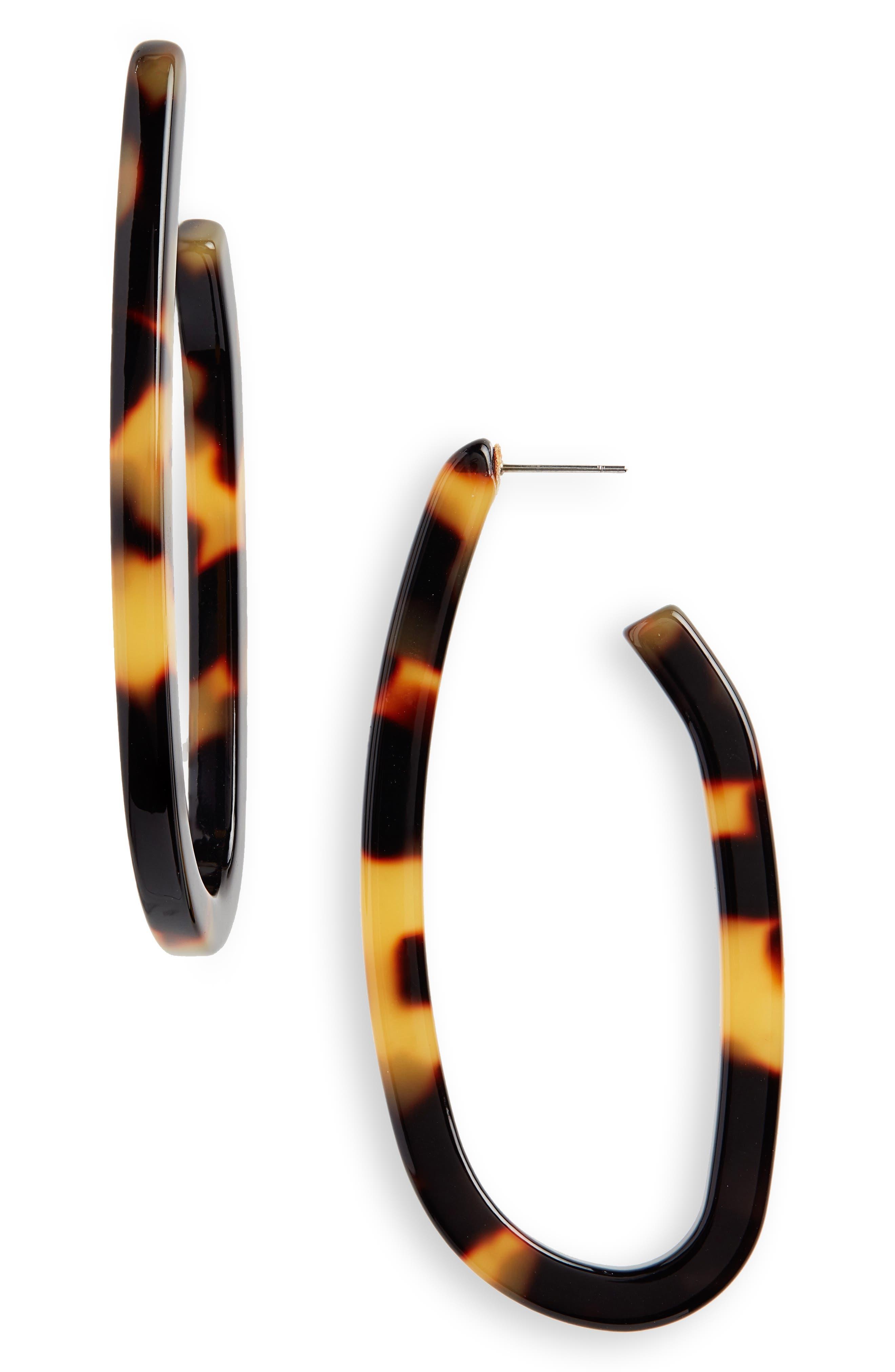 Maya Hoop Earrings,                             Main thumbnail 1, color,                             200