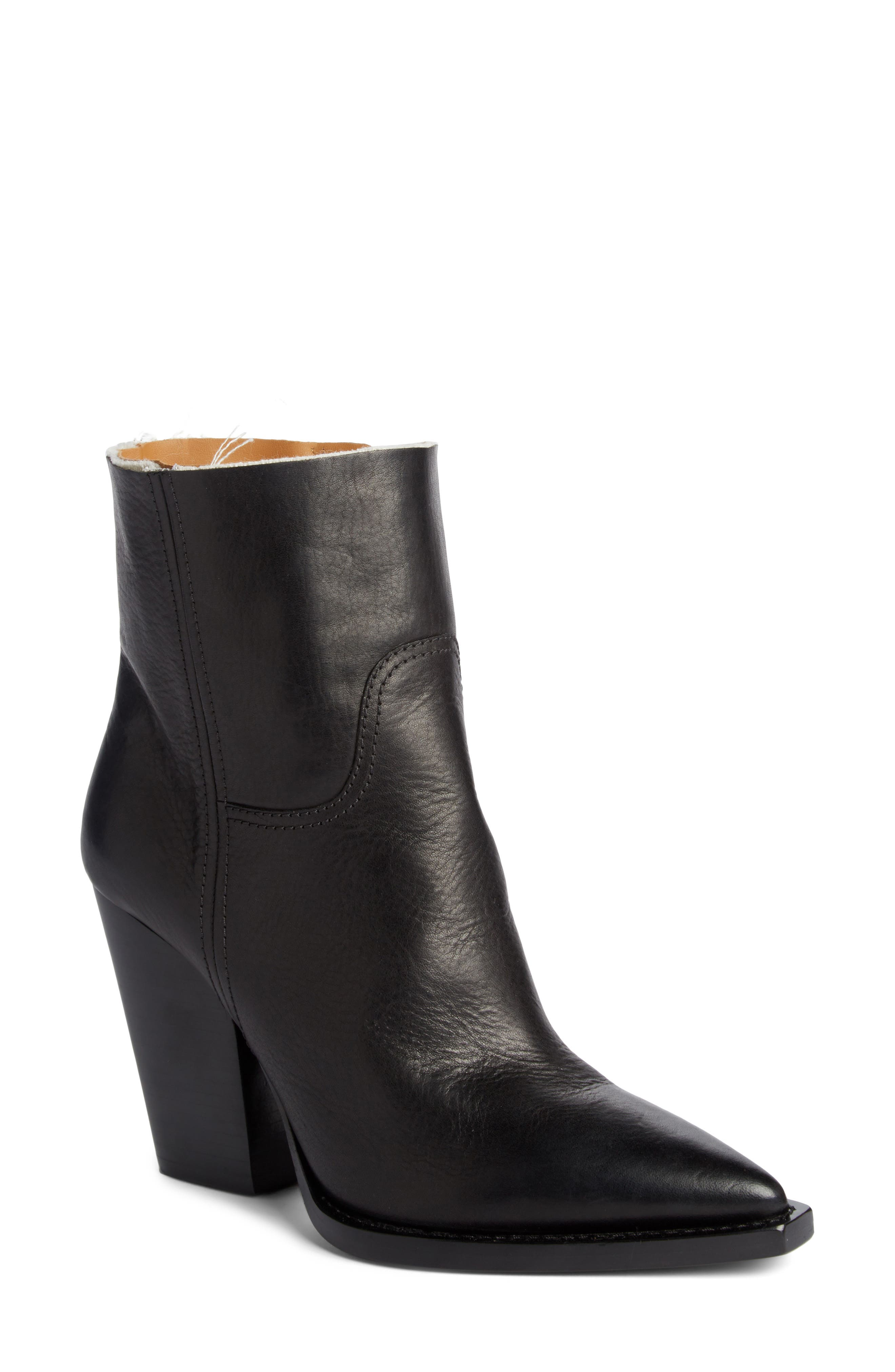 Theo Bootie,                         Main,                         color, BLACK
