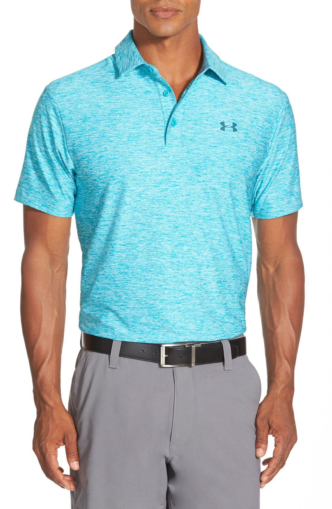 'Playoff' Loose Fit Short Sleeve Polo,                             Main thumbnail 42, color,