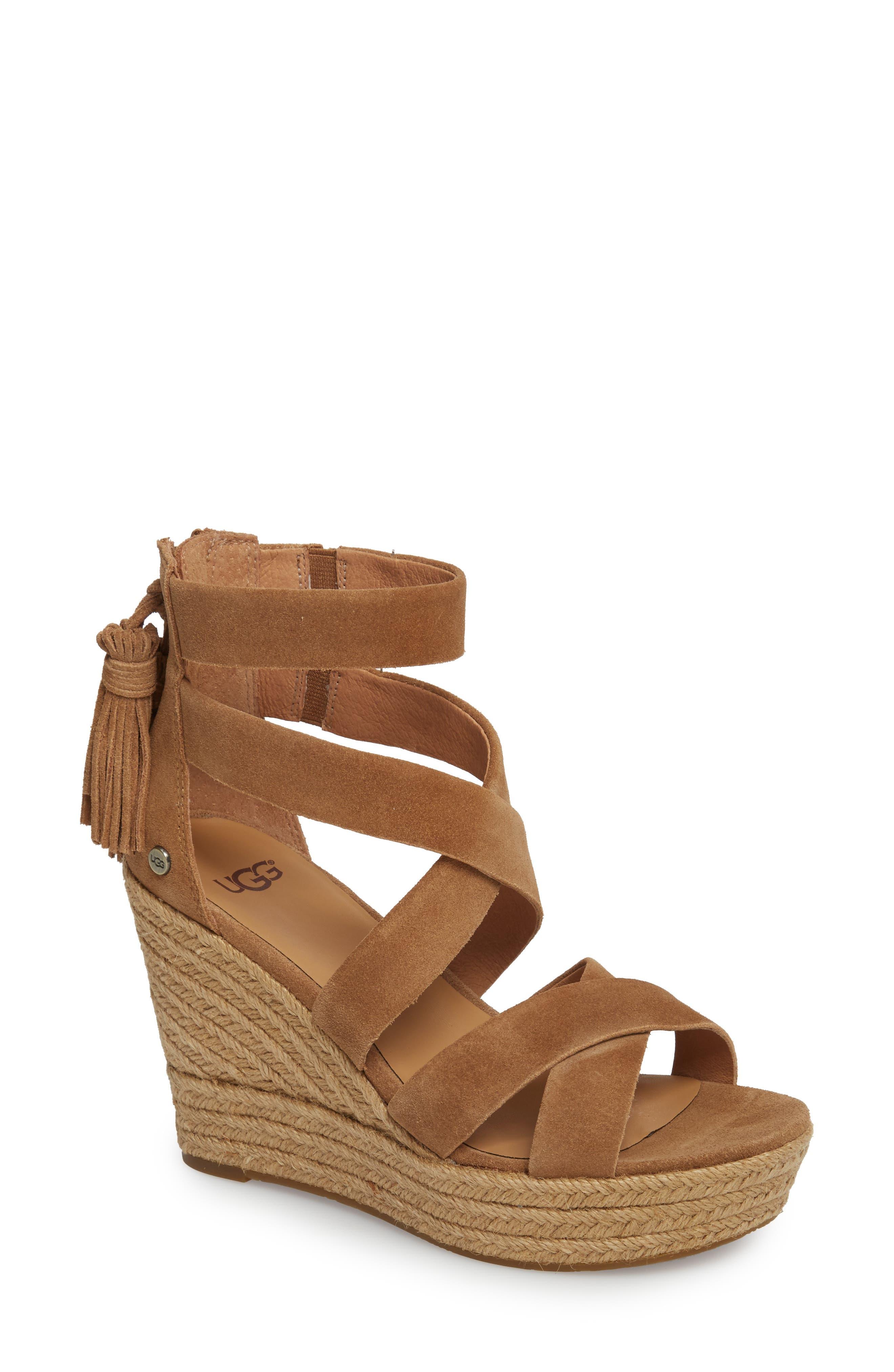 Raquel Platform Wedge Sandal,                             Main thumbnail 2, color,