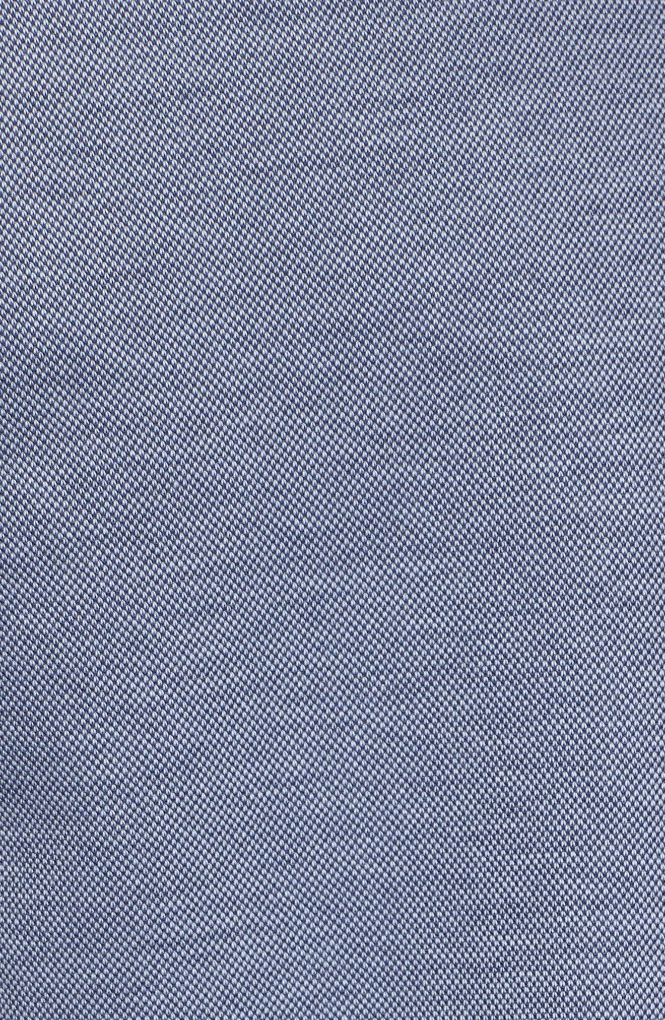 Andrew Regular Fit Piqué Polo,                             Alternate thumbnail 5, color,                             PURA VIDA BLUE