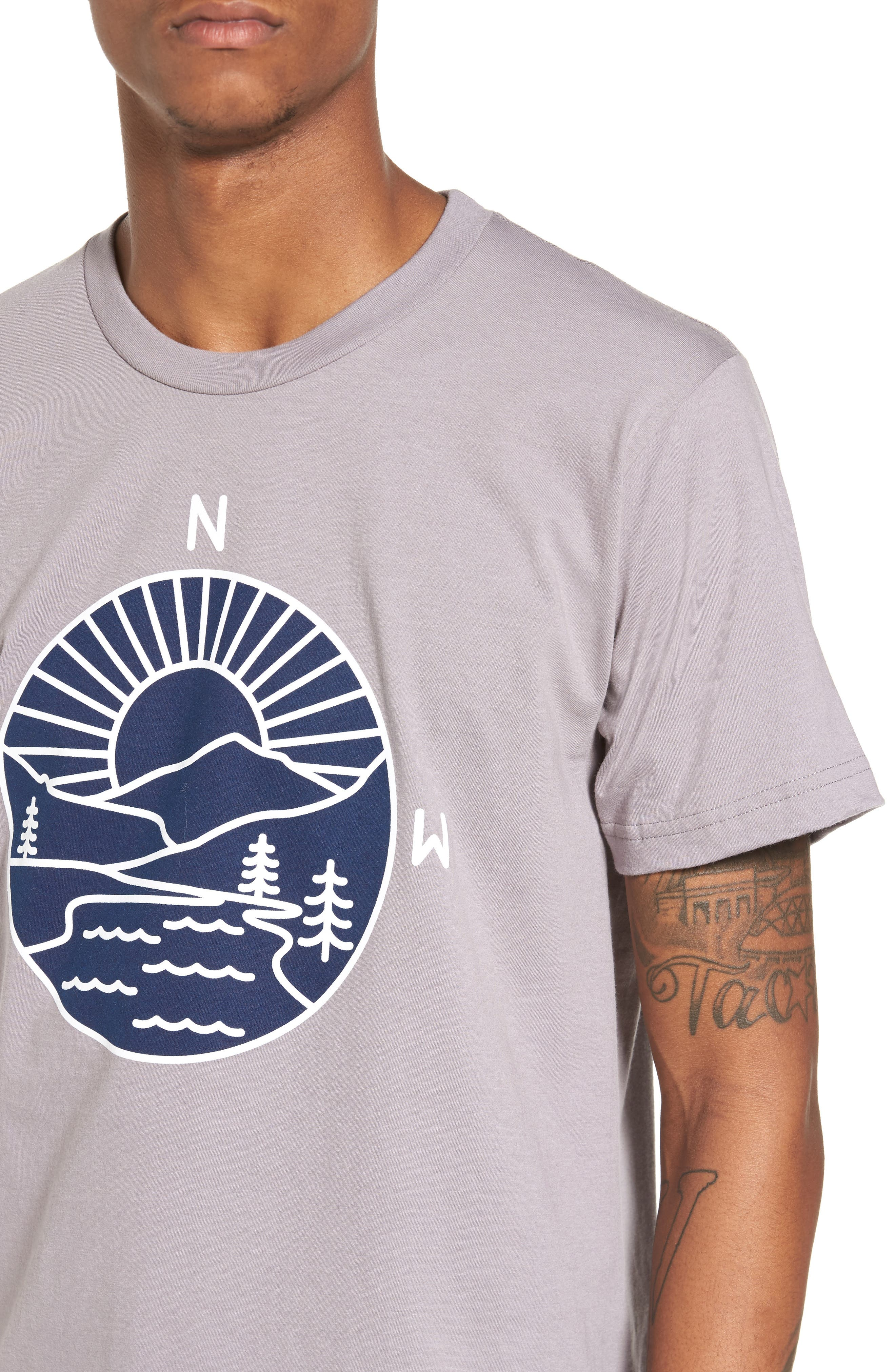 PNW Explorer T-Shirt,                             Alternate thumbnail 4, color,                             020