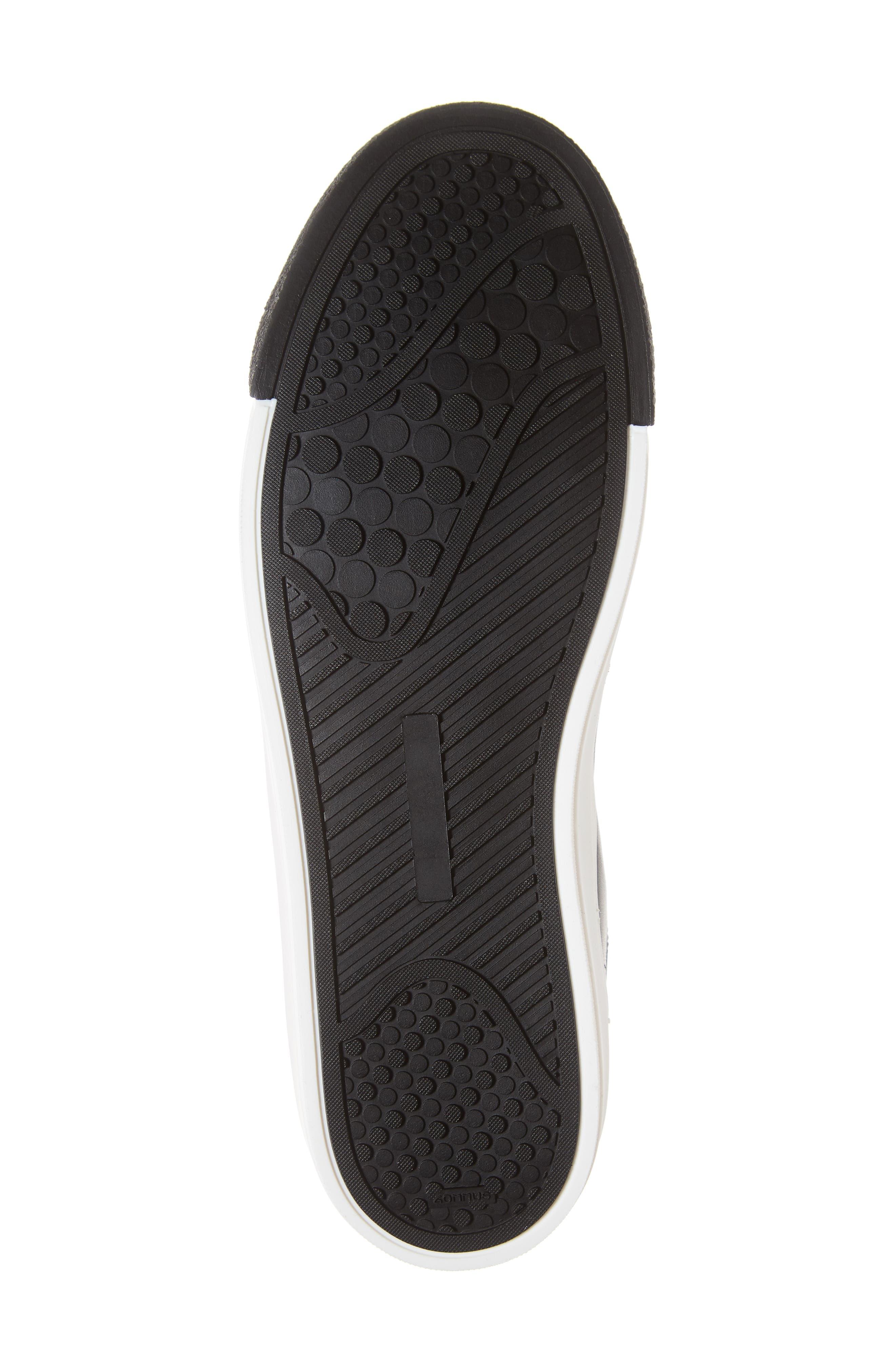 A8miamijsocks Sneaker,                             Alternate thumbnail 6, color,                             BLACK