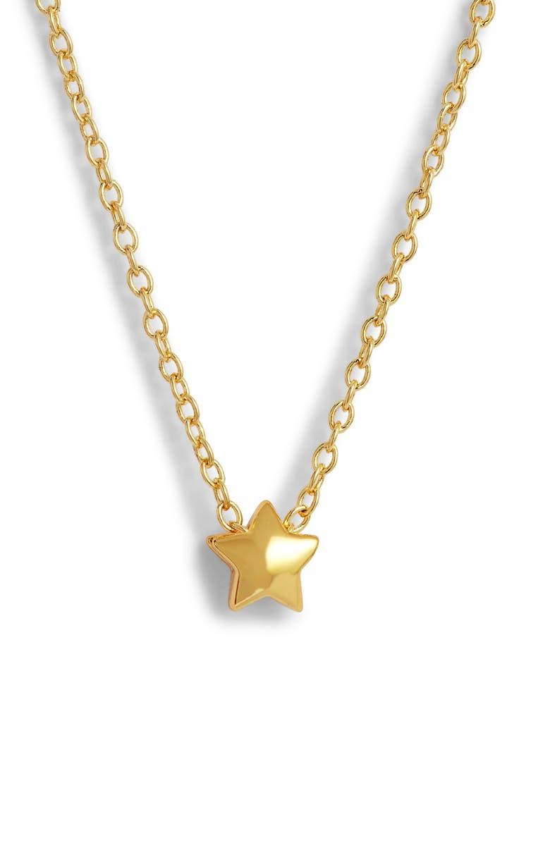 Gorjana STAR CHARM ADJUSTABLE NECKLACE