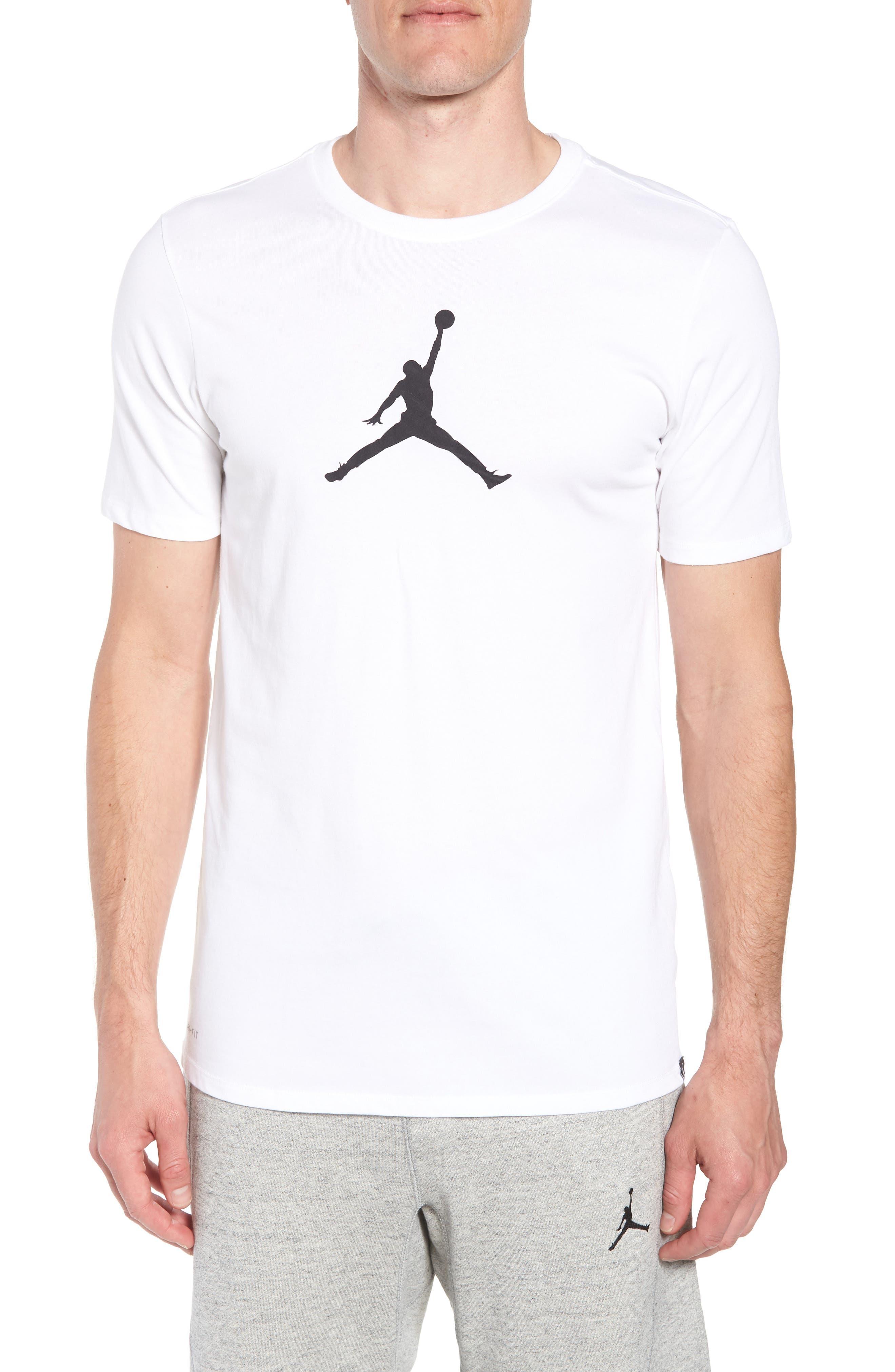 Iconic Jumpman Graphic T-Shirt,                             Main thumbnail 2, color,