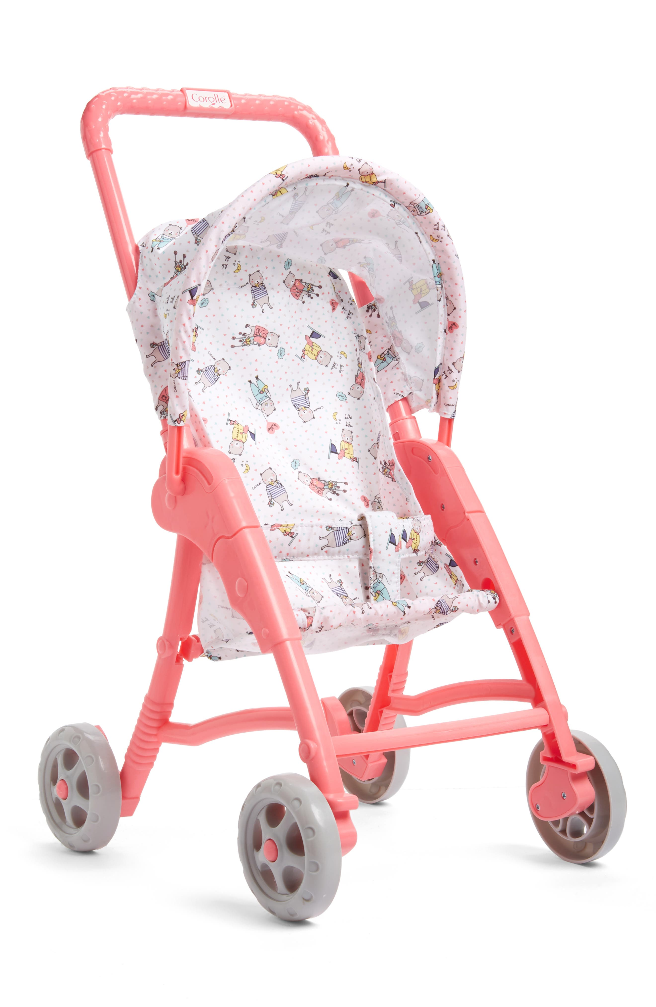 BB 12-Inch Doll Stroller, Main, color, 652