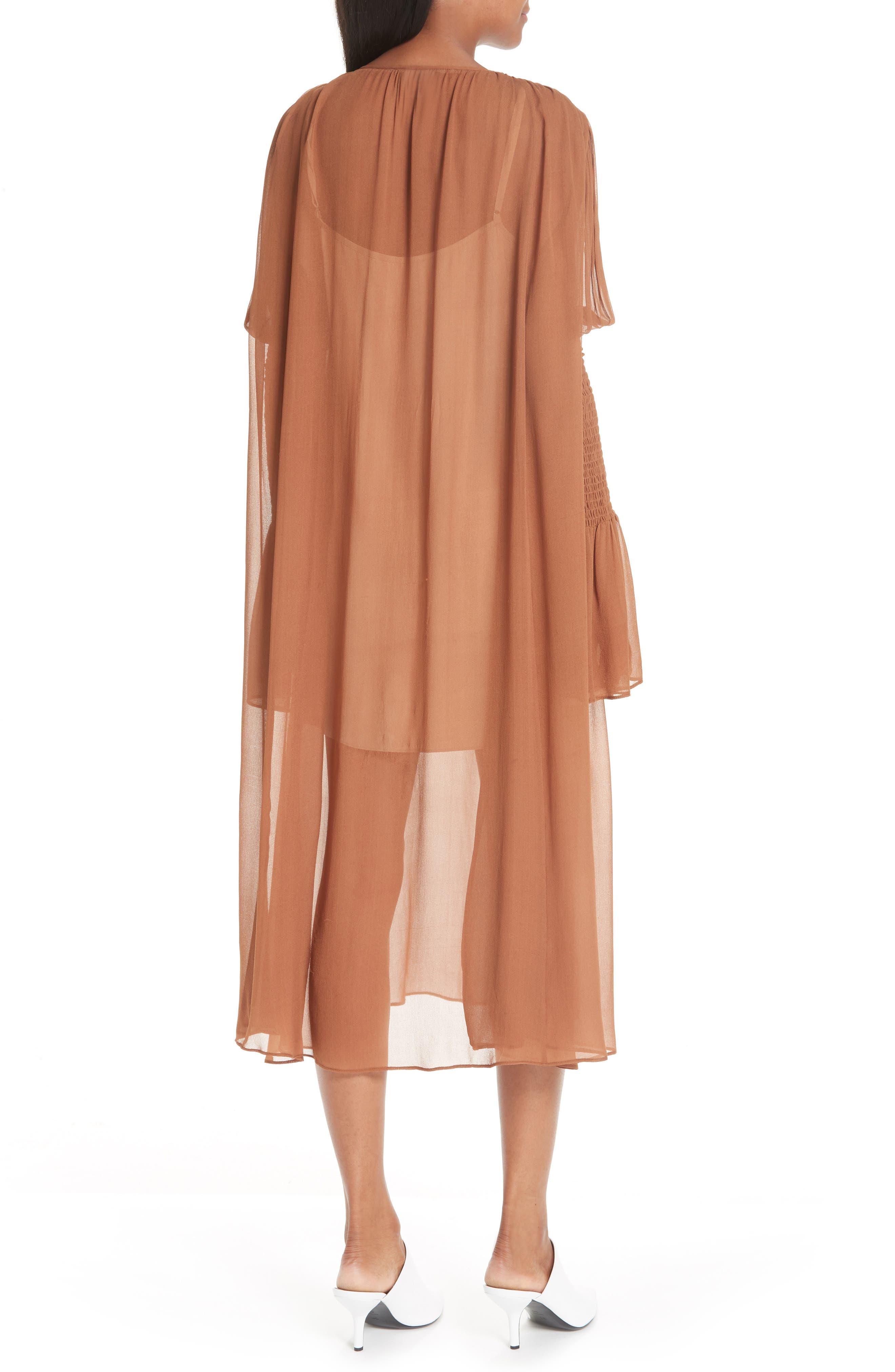 CIENNE,                             The Costa Silk Dress,                             Alternate thumbnail 2, color,                             200