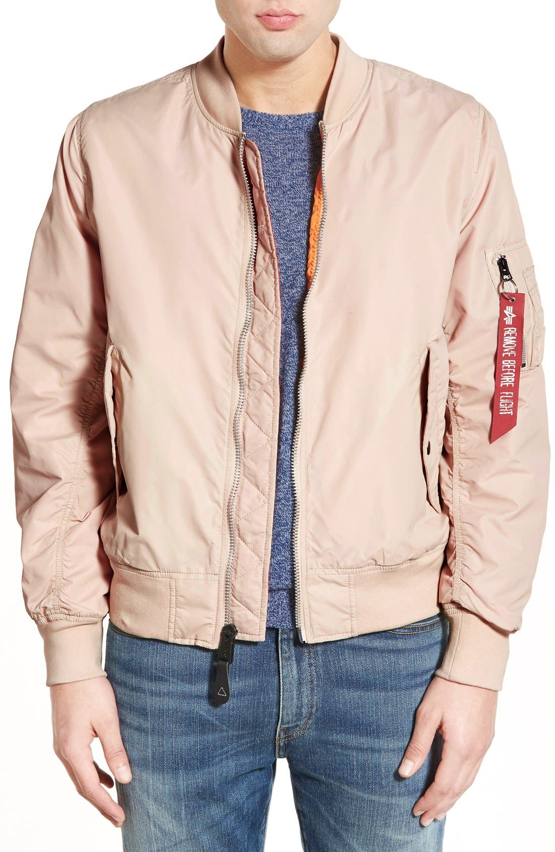 LB-2 Scout Reversible Flight Jacket,                             Main thumbnail 4, color,