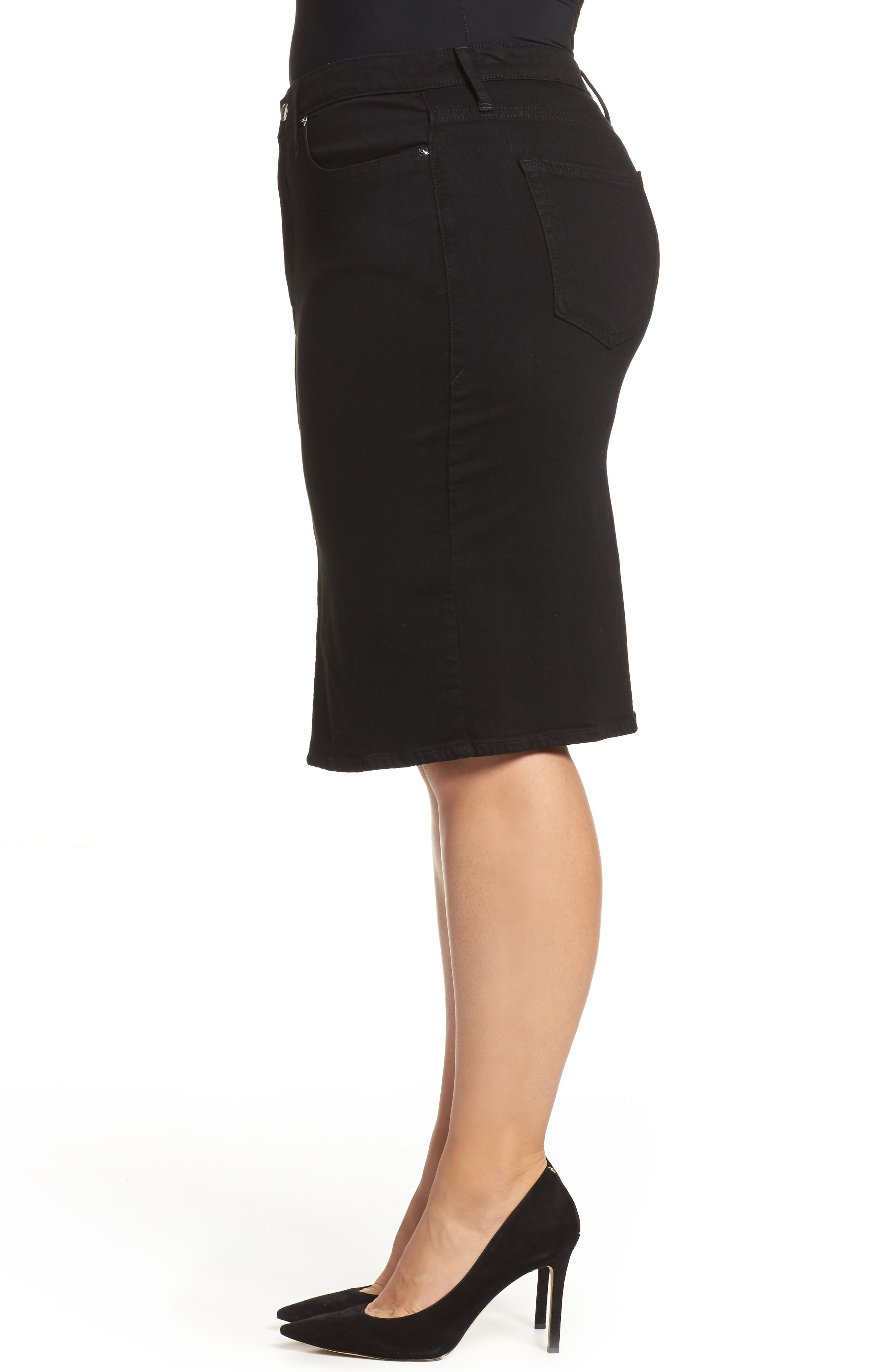 The Pencil Skirt,                             Alternate thumbnail 3, color,                             001