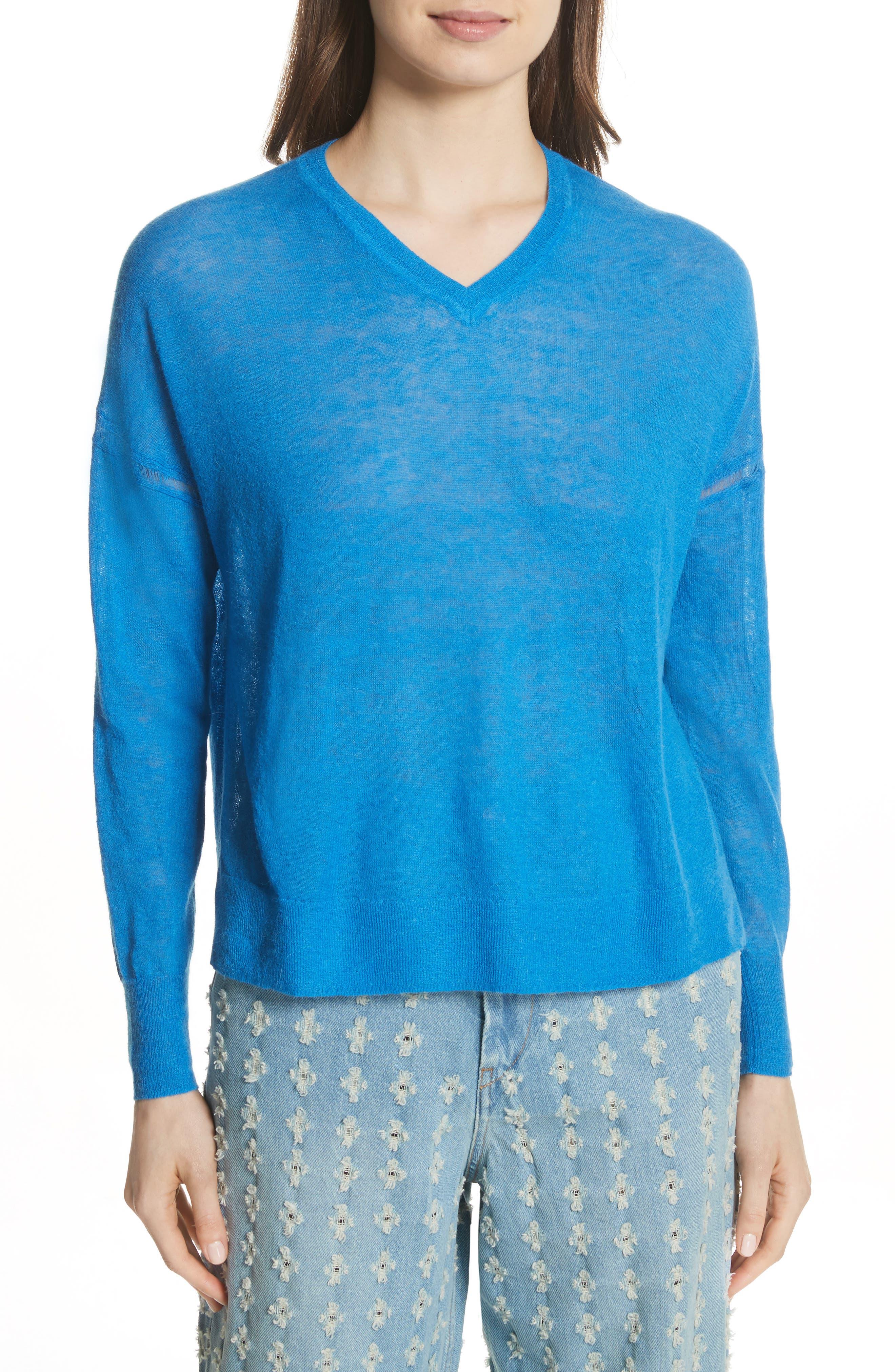 Isabel Marant Étoile Wool & Alpaca Blend Sweater,                             Main thumbnail 1, color,