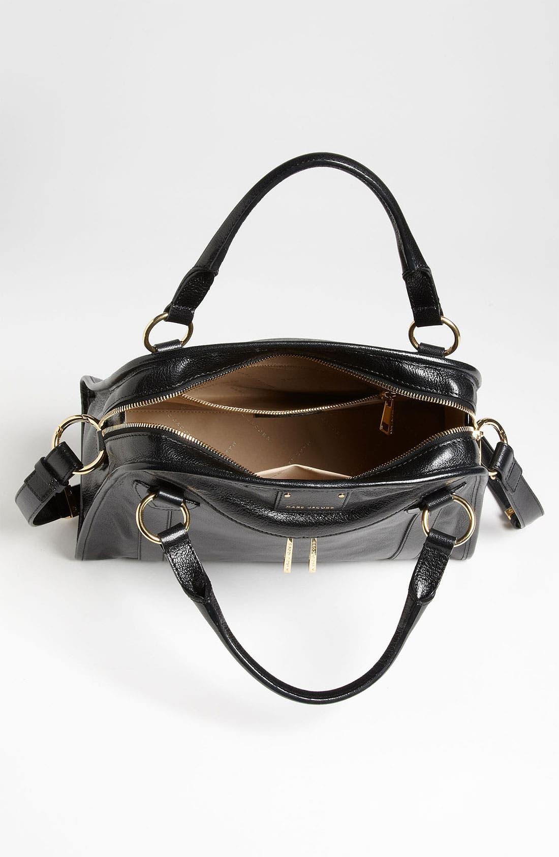 'Classic Wellington' Leather Satchel,                             Alternate thumbnail 26, color,